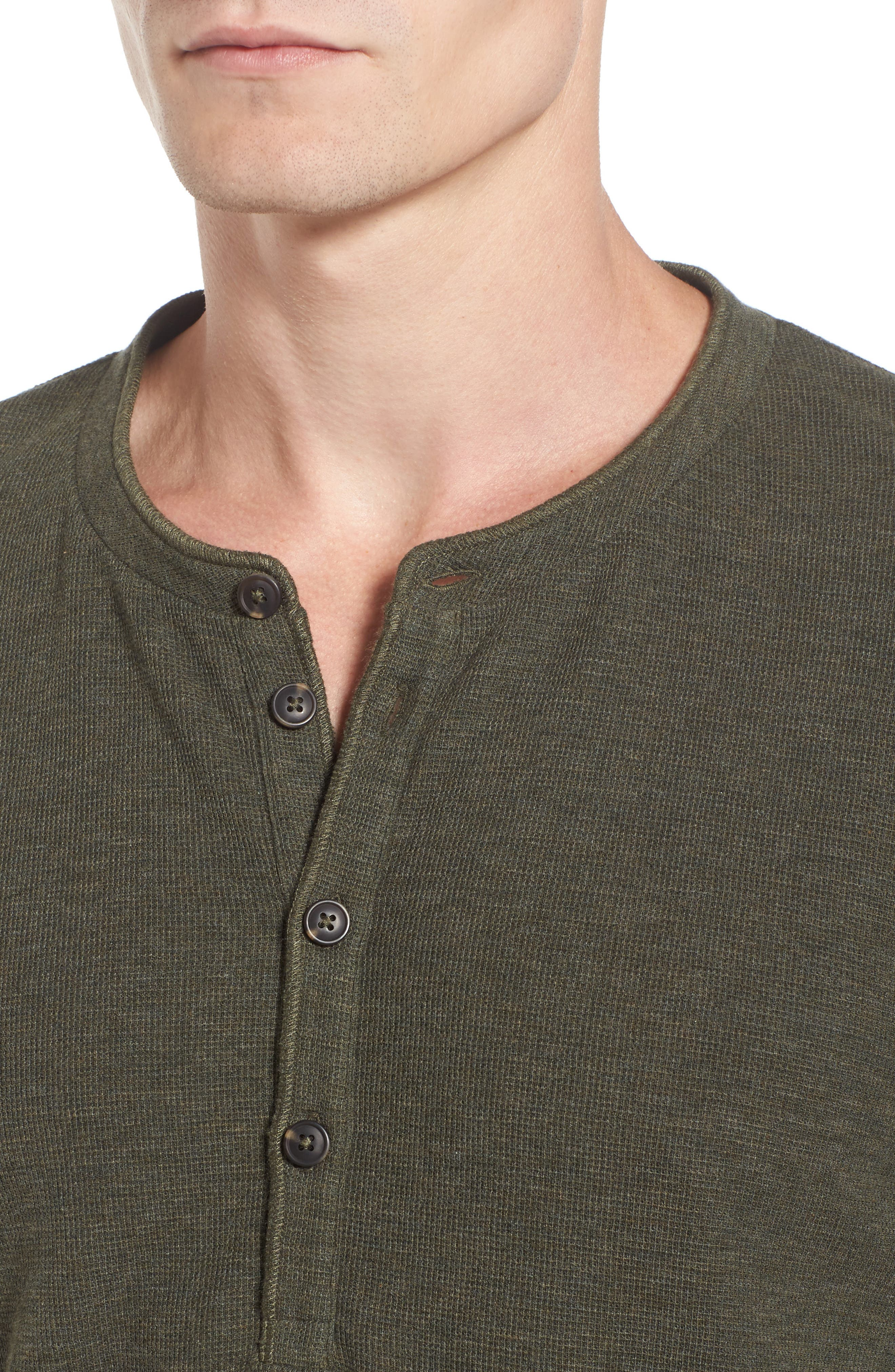 Topsider Thermal Henley,                             Alternate thumbnail 14, color,