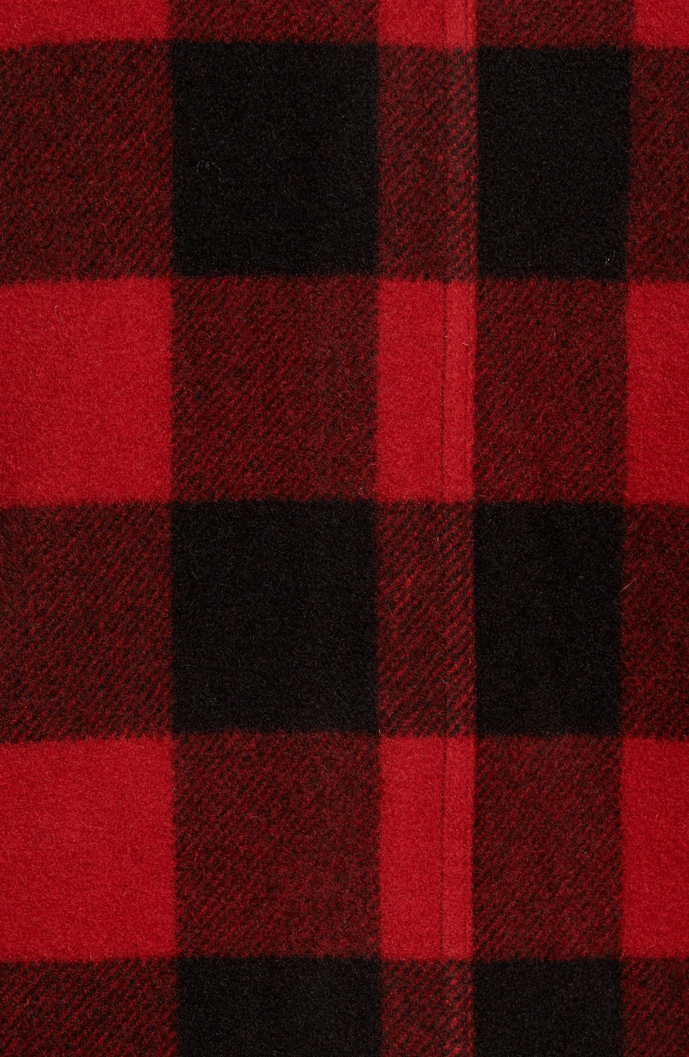 Anchor Line Flannel Shirt Jacket,                             Alternate thumbnail 12, color,