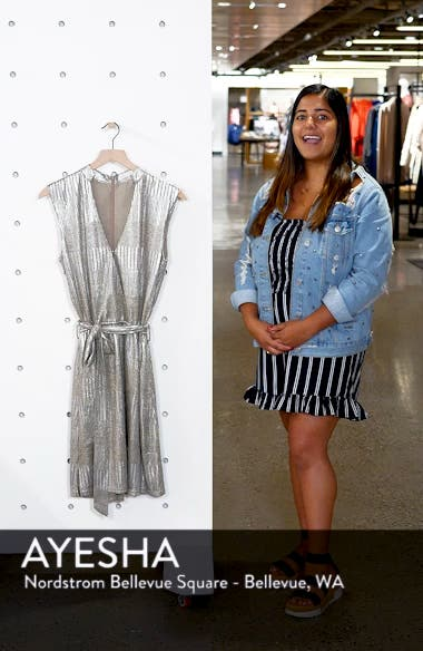 Bishop + Young Olivia Metallic Minidress, sales video thumbnail