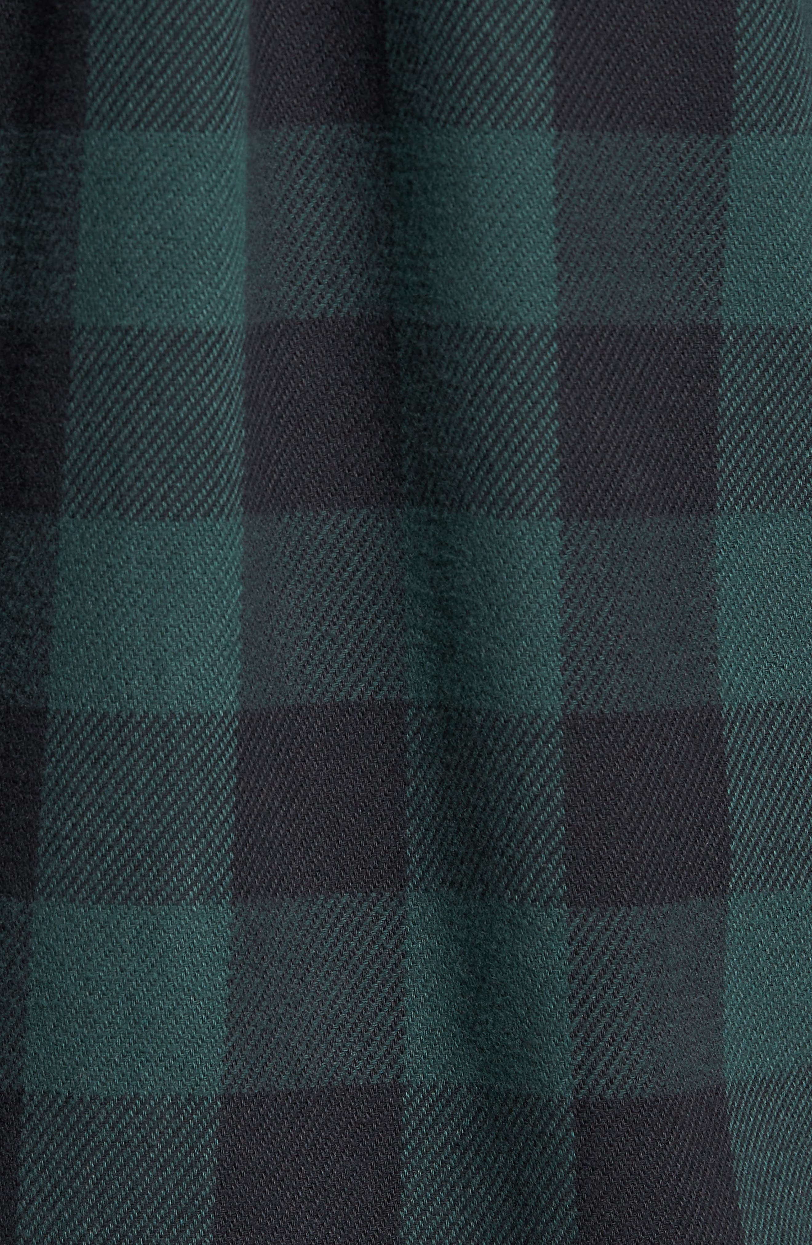 Wisner Plaid Shirt,                             Alternate thumbnail 5, color,                             001