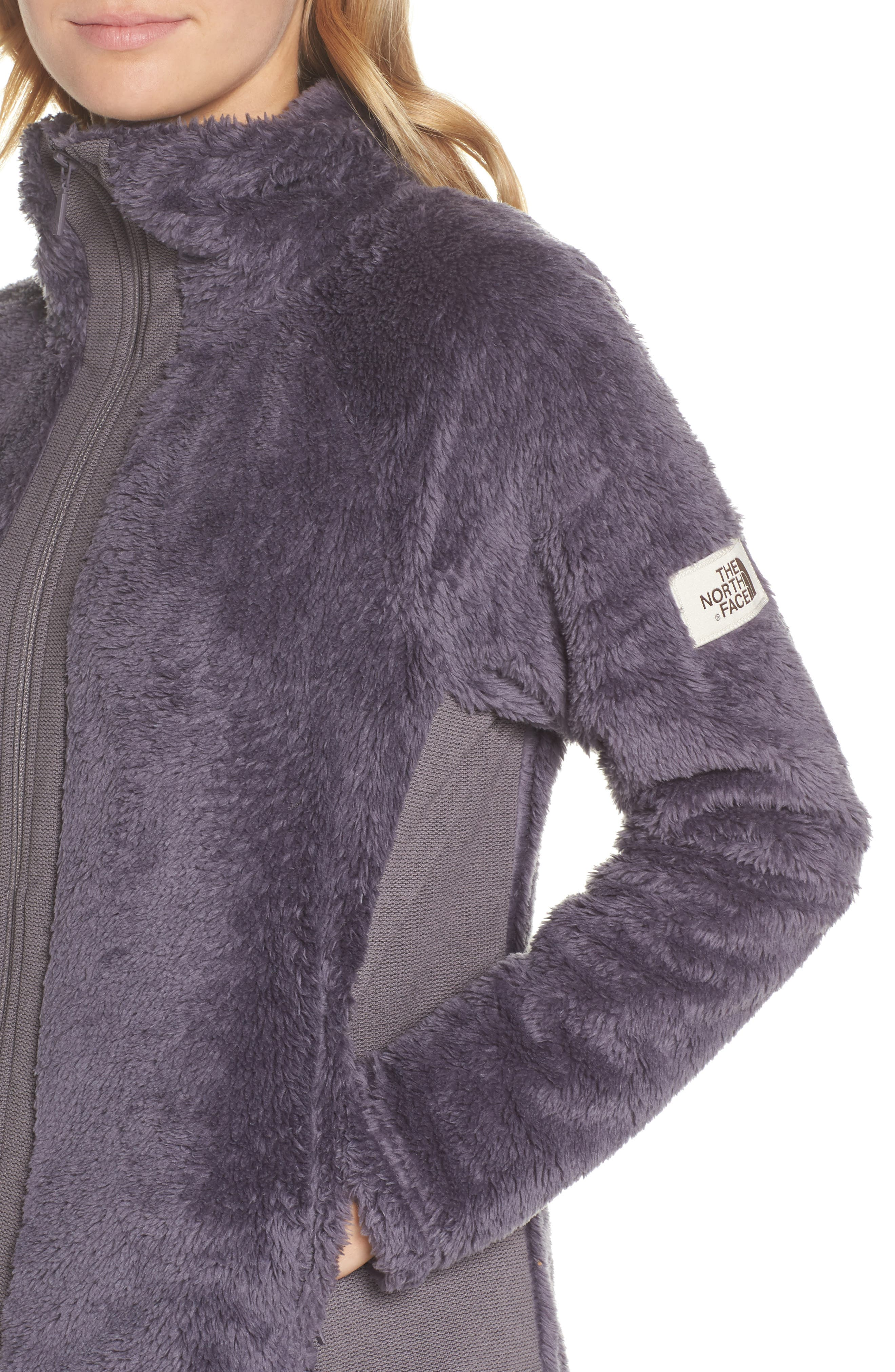Furry Fleece Jacket,                             Alternate thumbnail 4, color,                             021