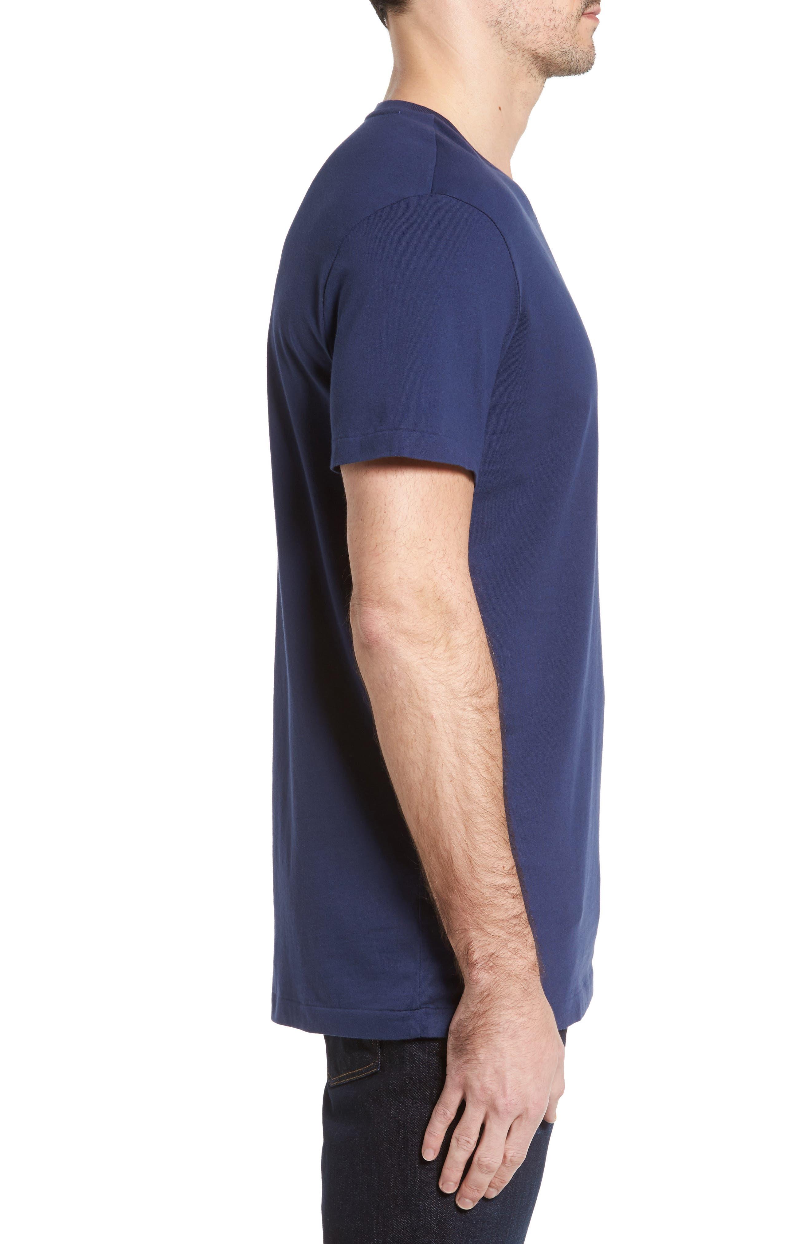 V-Neck T-Shirt,                             Alternate thumbnail 6, color,