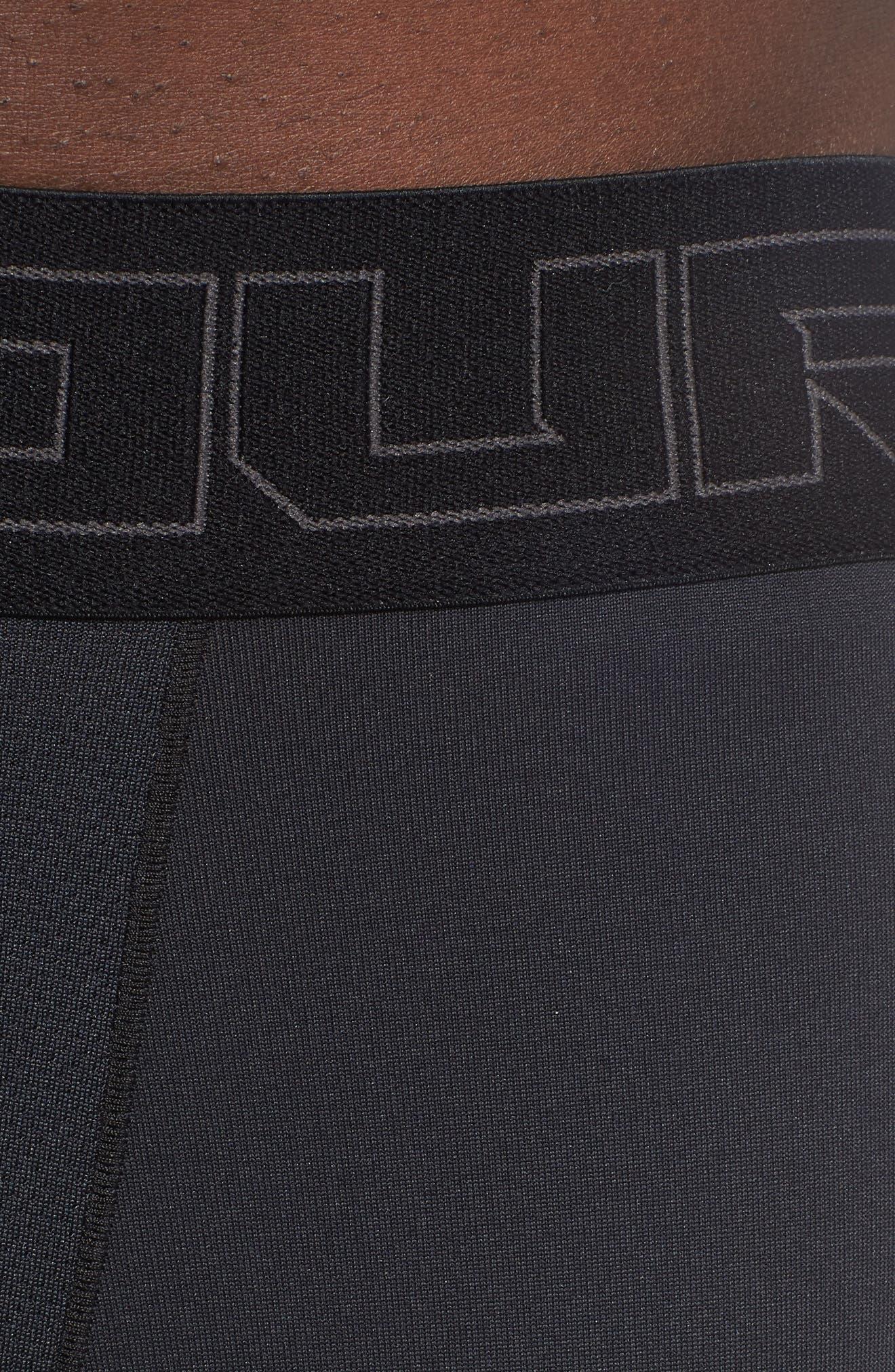 ColdGear<sup>®</sup> Leggings,                             Alternate thumbnail 4, color,                             BLACK/ CHARCOAL