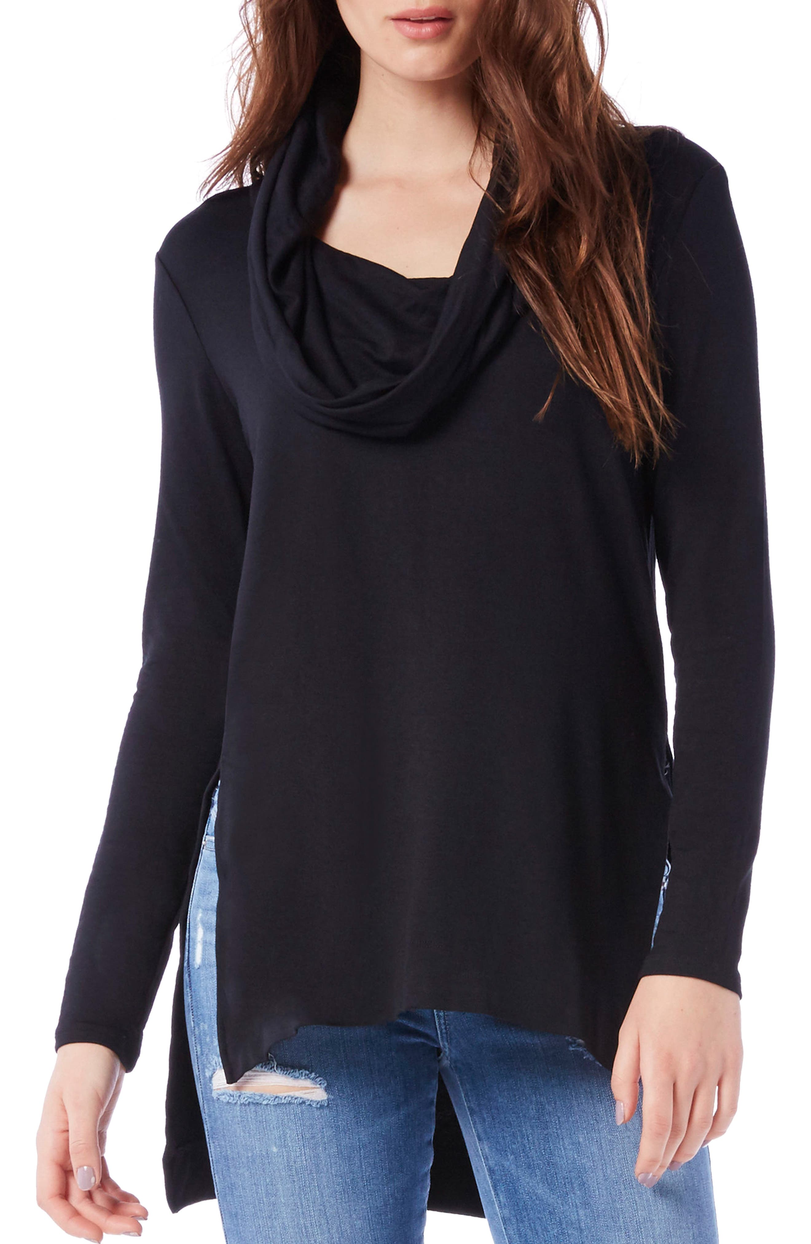 Cowl Hooded Tunic,                         Main,                         color, 001