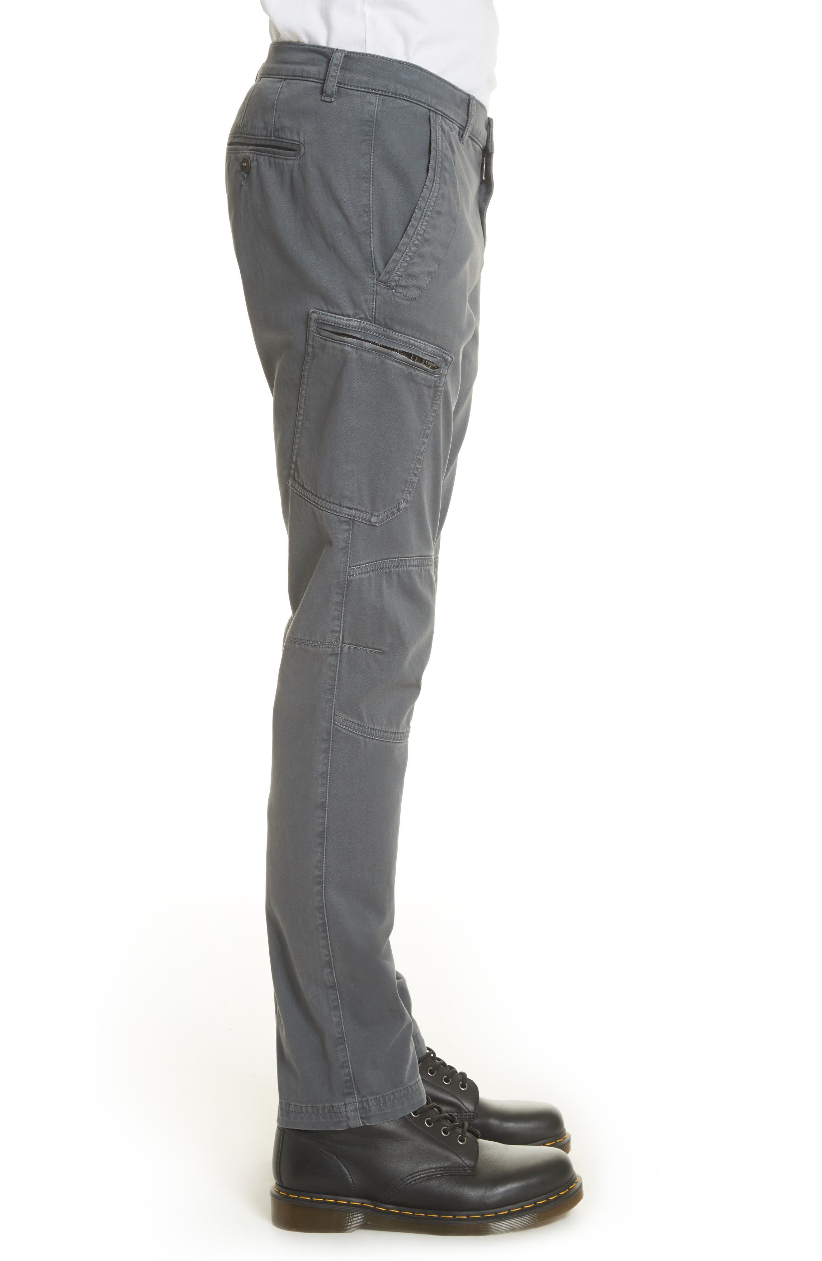 Garment Dyed Cargo Pants,                             Alternate thumbnail 3, color,                             022
