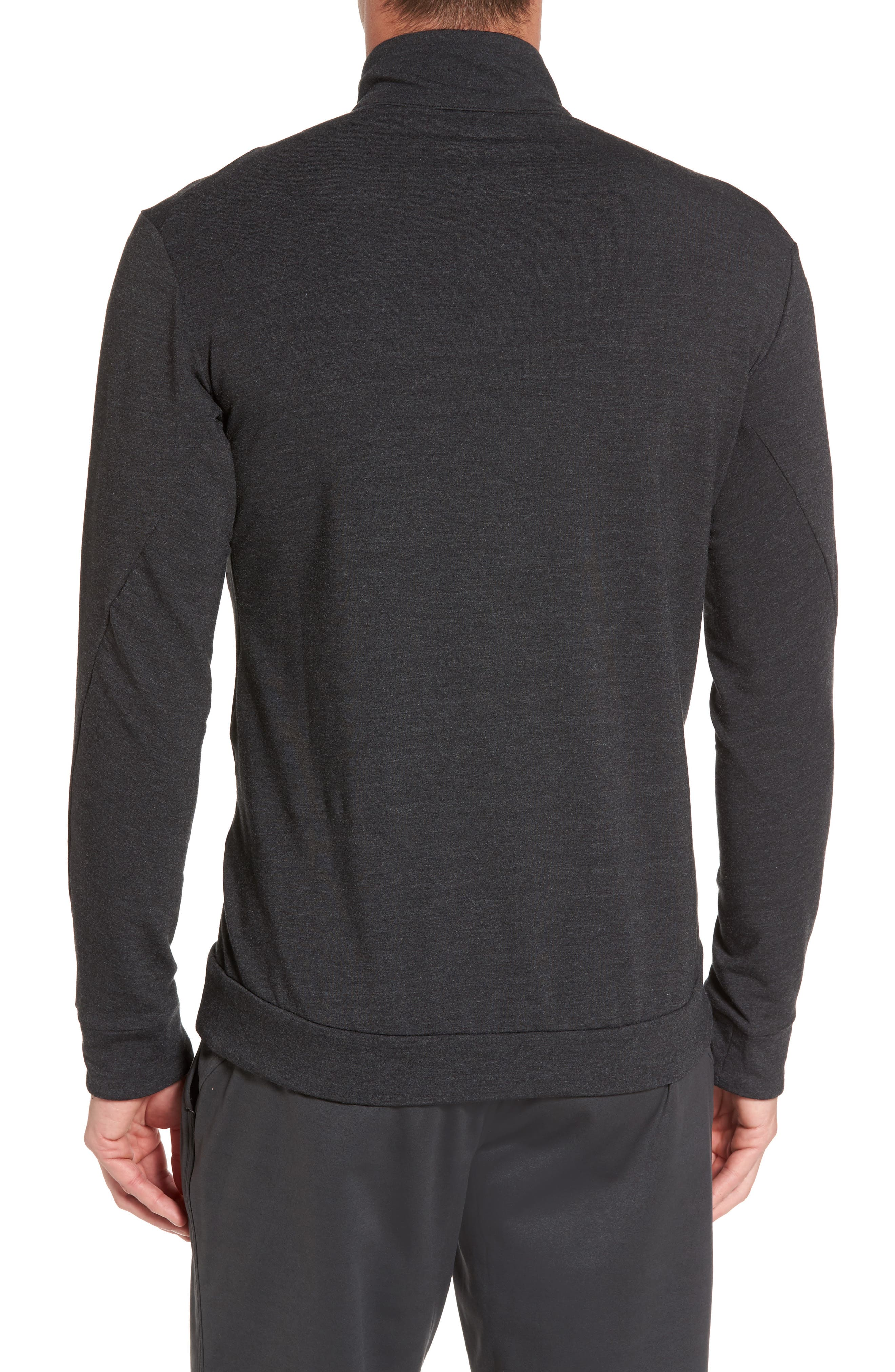 Dry Training Quarter Zip Pullover,                             Alternate thumbnail 2, color,                             010