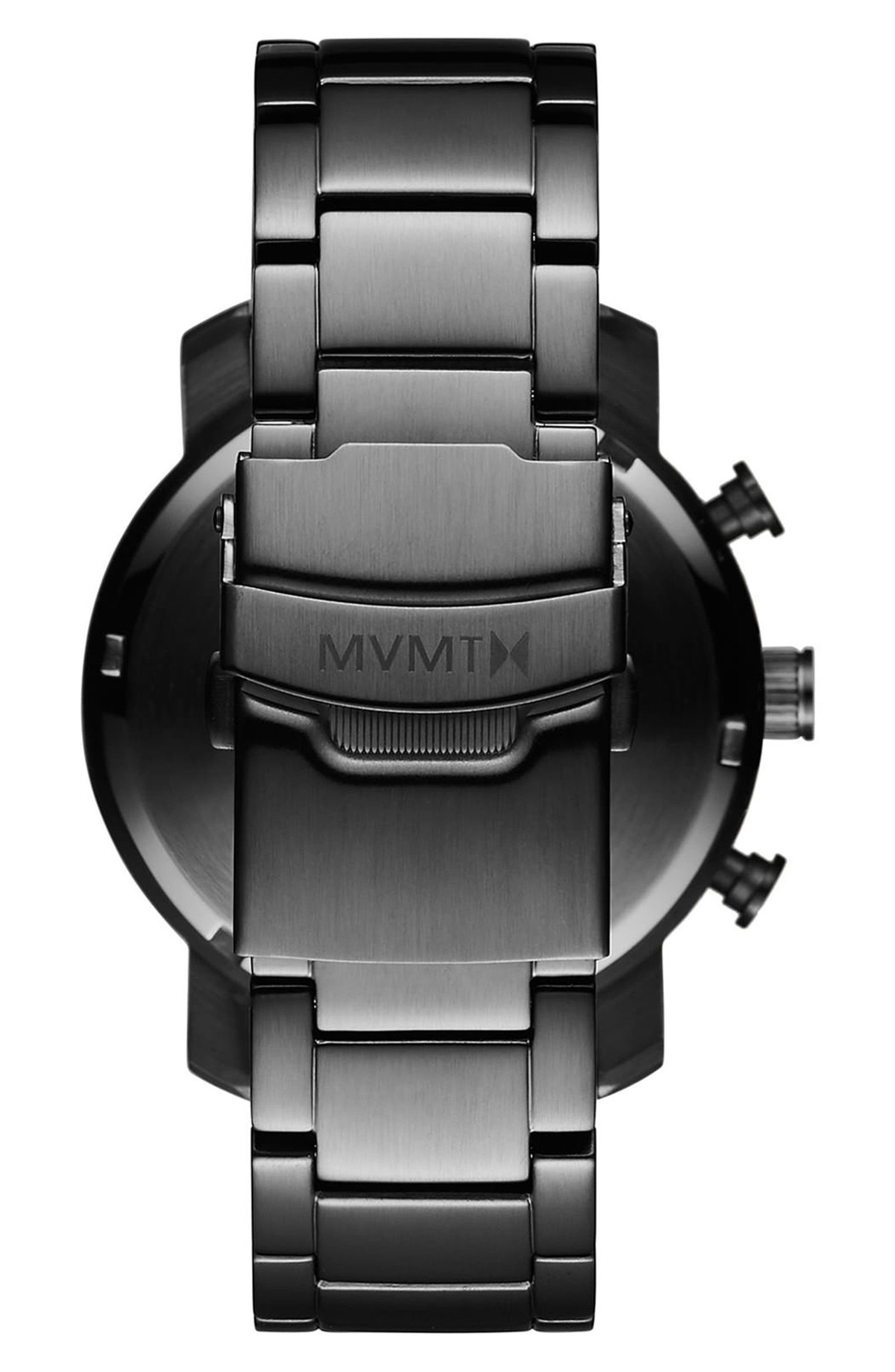Chrono Chronograph Bracelet Watch, 40mm,                             Alternate thumbnail 2, color,                             ALL GUNMETAL