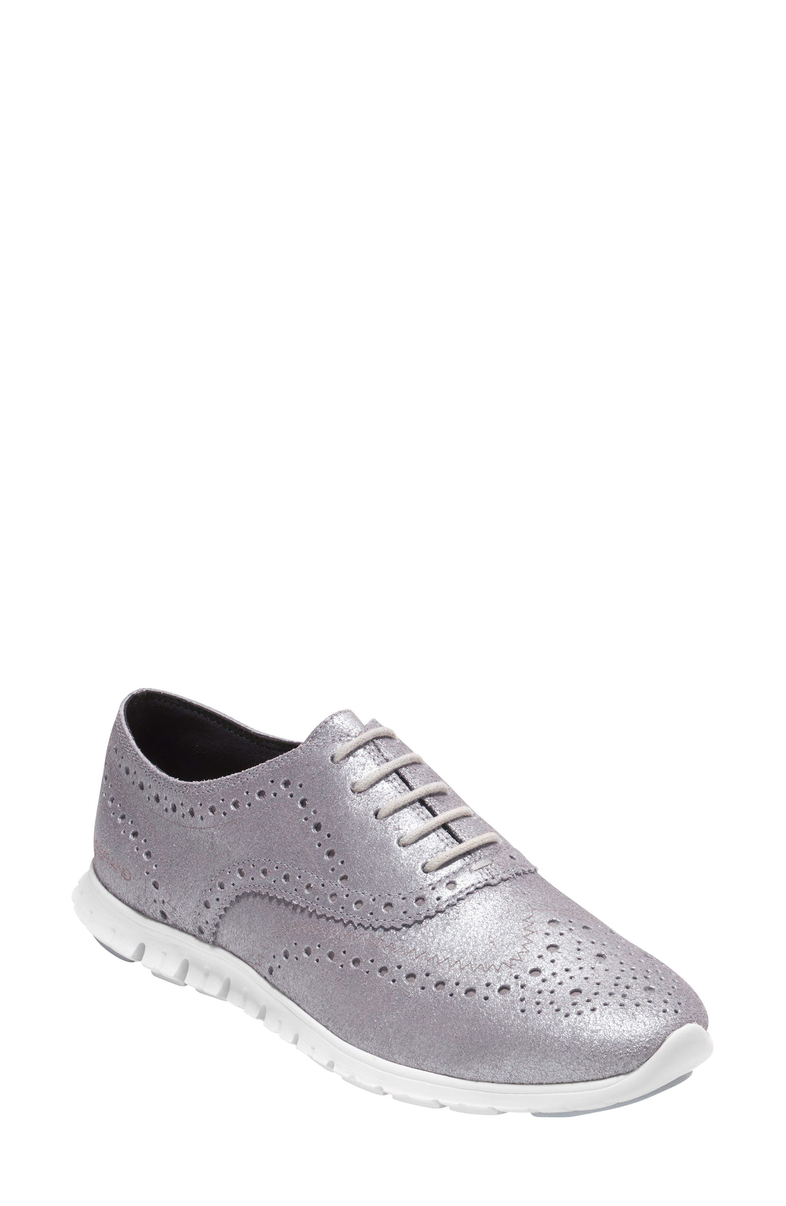 ZERØGRAND Wingtip Oxford Sneaker,                         Main,                         color, 020