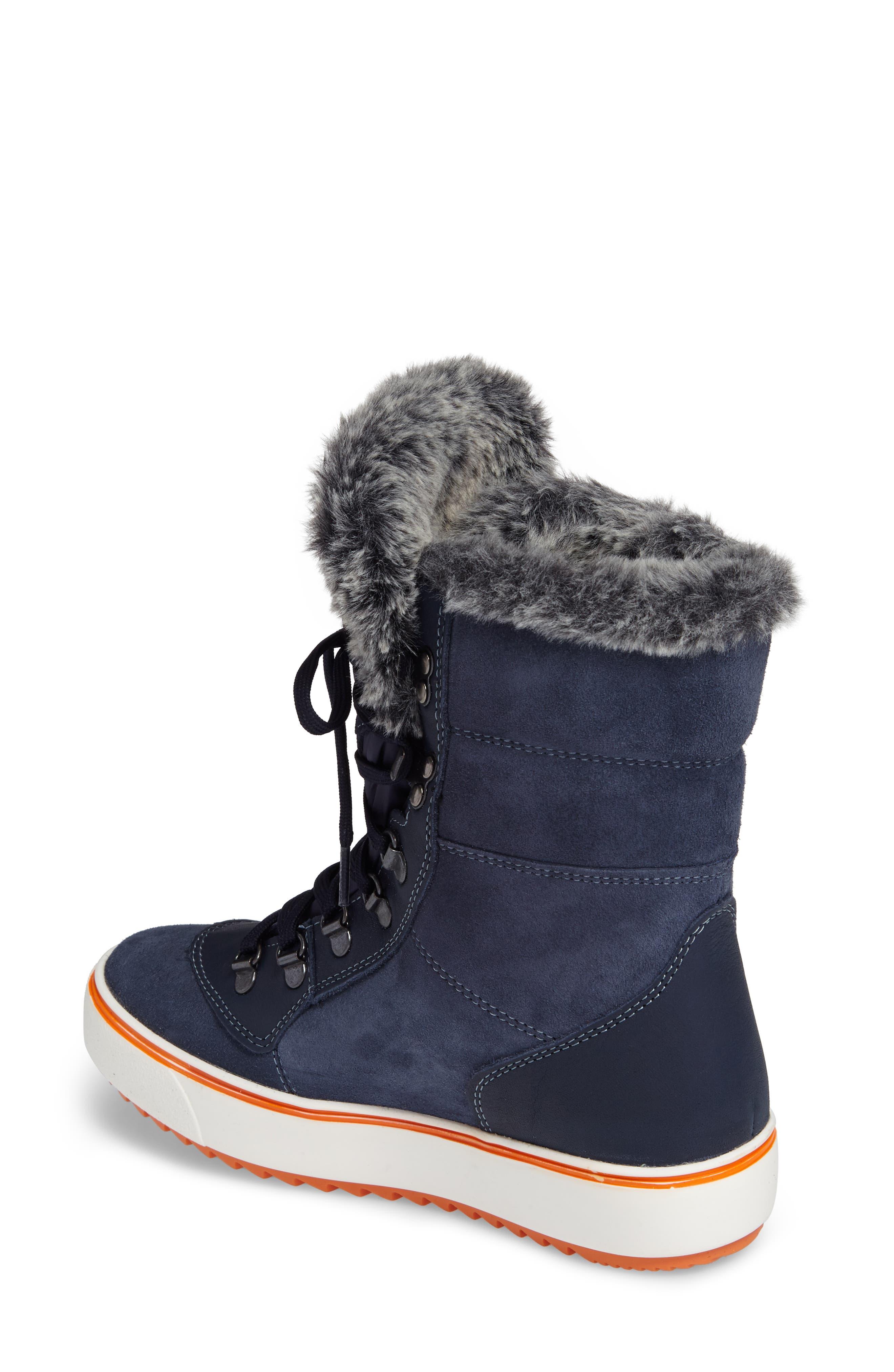 Mixx Faux Fur Waterproof Boot,                             Alternate thumbnail 2, color,                             410