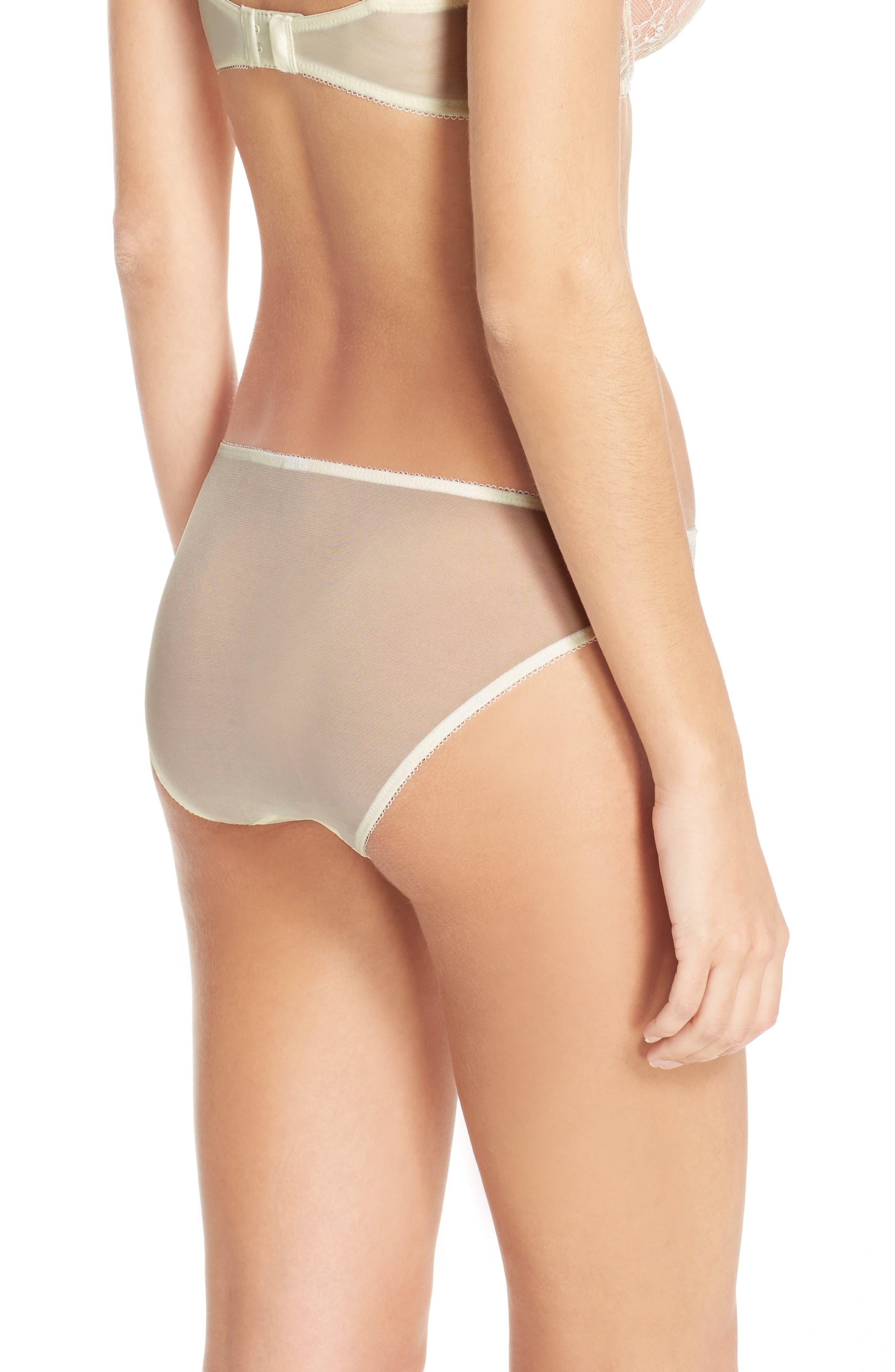 'B Sultry' Bikini,                             Alternate thumbnail 8, color,                             VANILLA ICE/ PEACH BEIGE