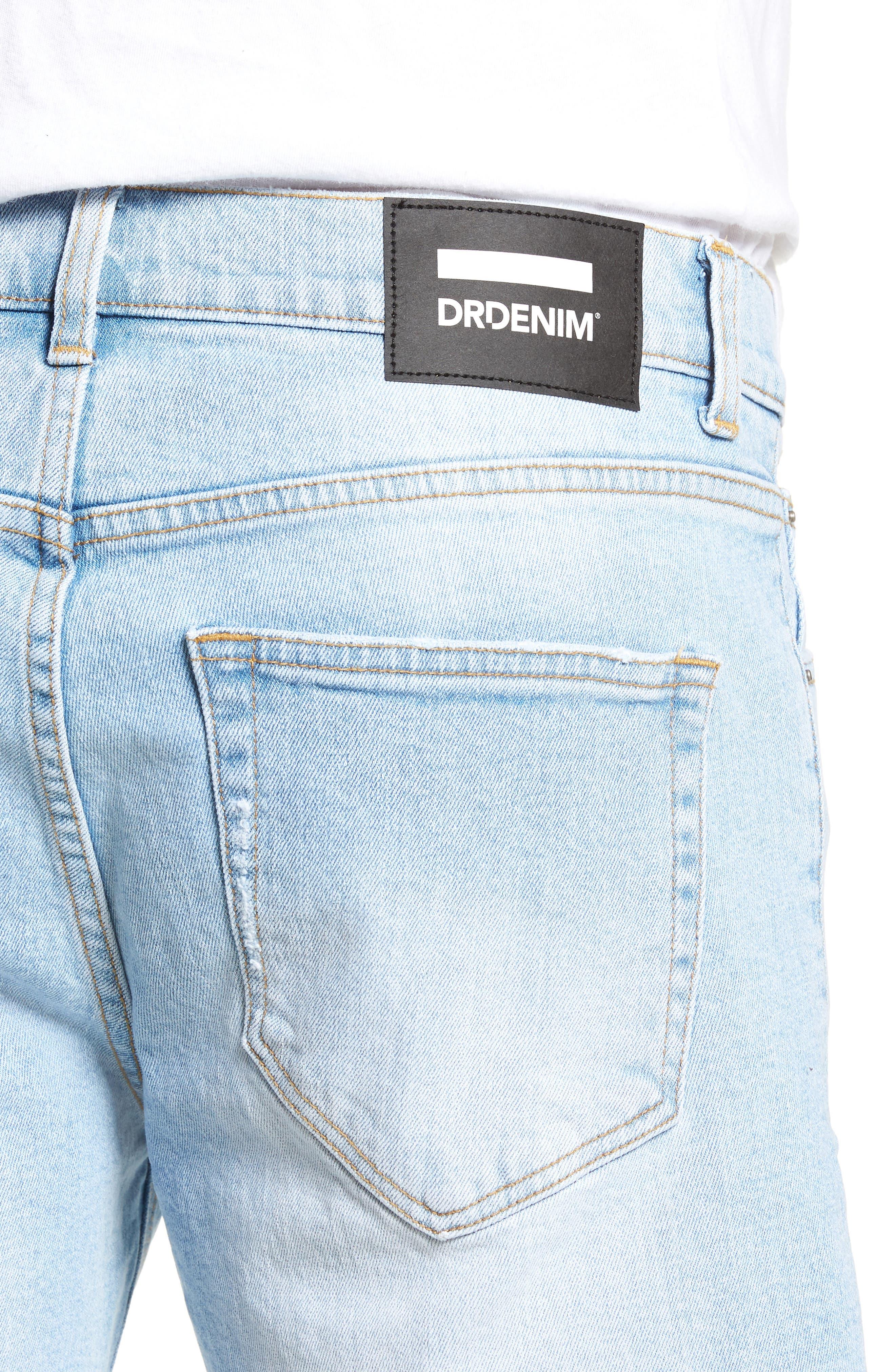 Dr. Denim Jeansmaker Denim Shorts,                             Alternate thumbnail 4, color,                             400