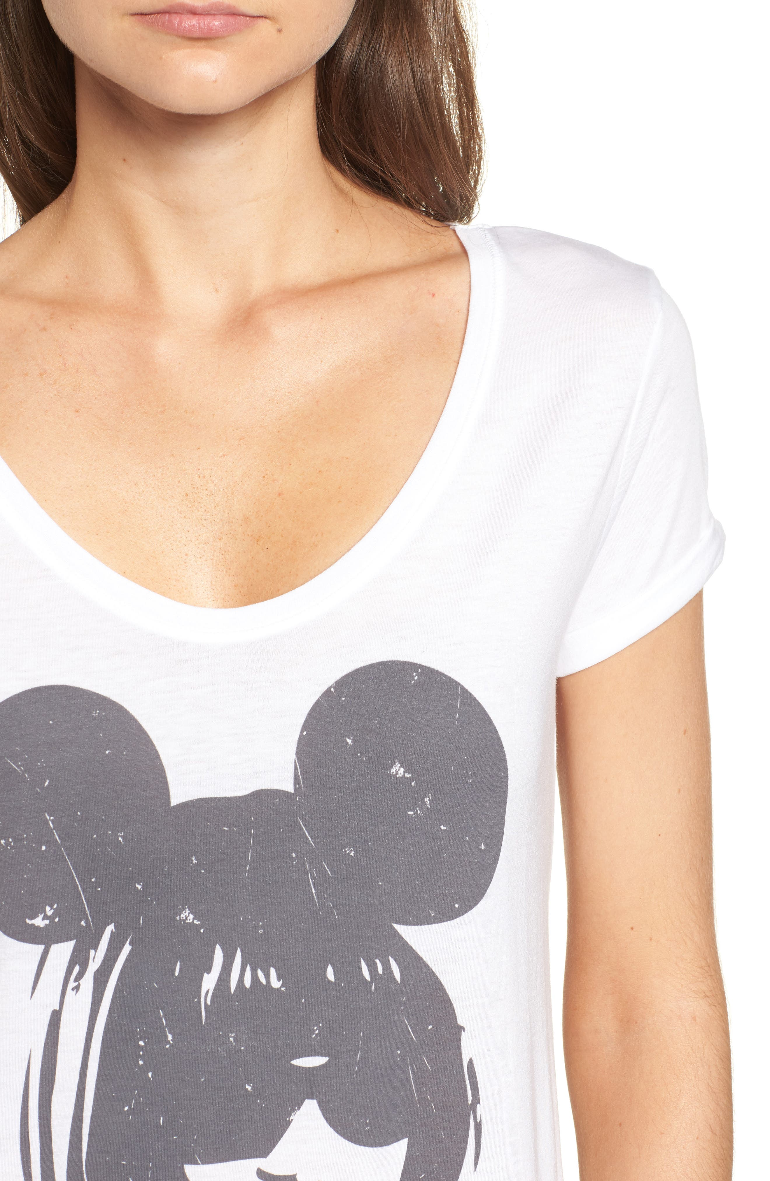 Anna Mouse Tee,                             Alternate thumbnail 4, color,                             100