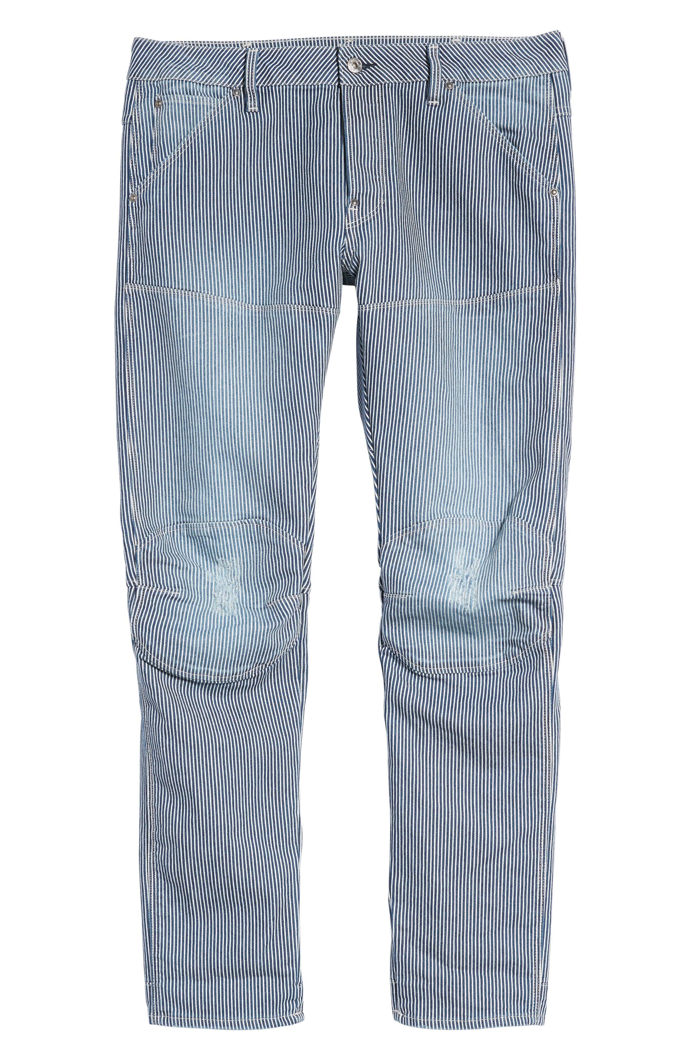 3D Slim Pants,                             Alternate thumbnail 6, color,                             420