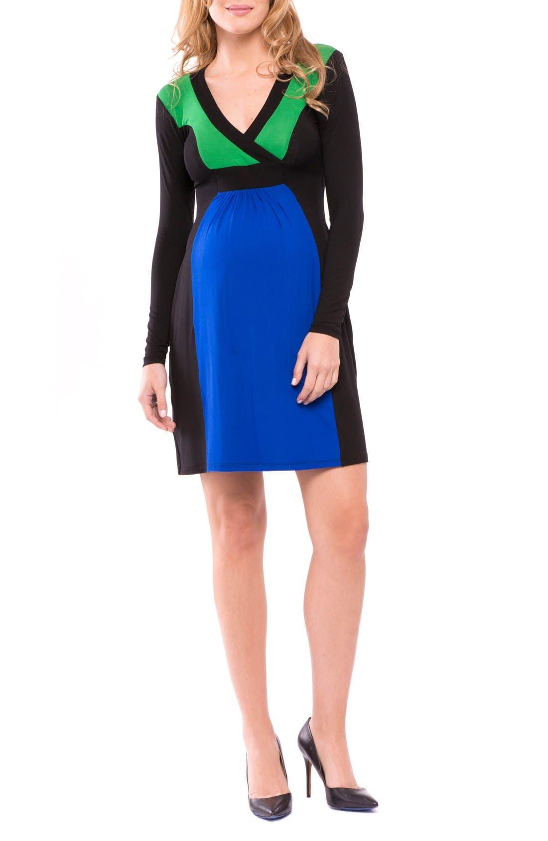 Margaret Maternity Dress,                         Main,                         color, 435