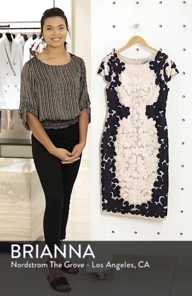 Contrast Soutache Sheath Dress, sales video thumbnail