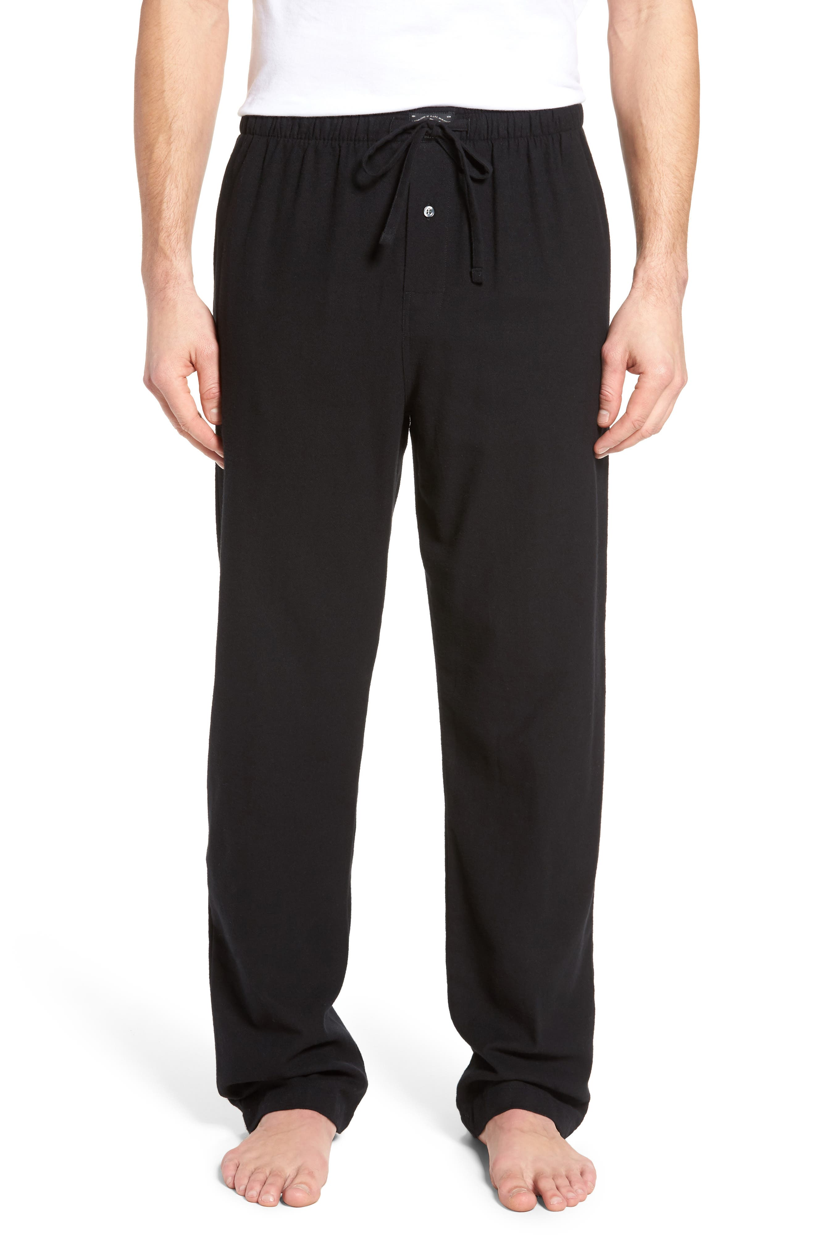 Flannel Pajama Pants,                             Main thumbnail 1, color,                             001