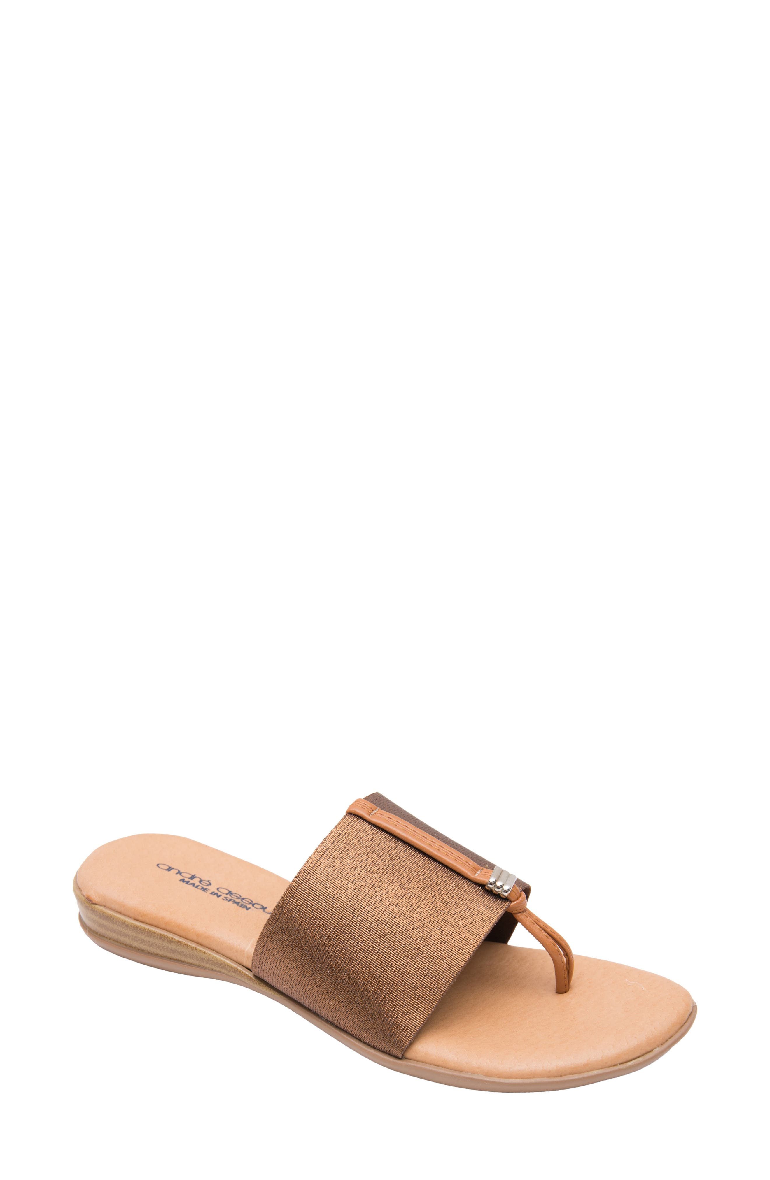 ANDRE ASSOUS Nice Sandal in Neutrals
