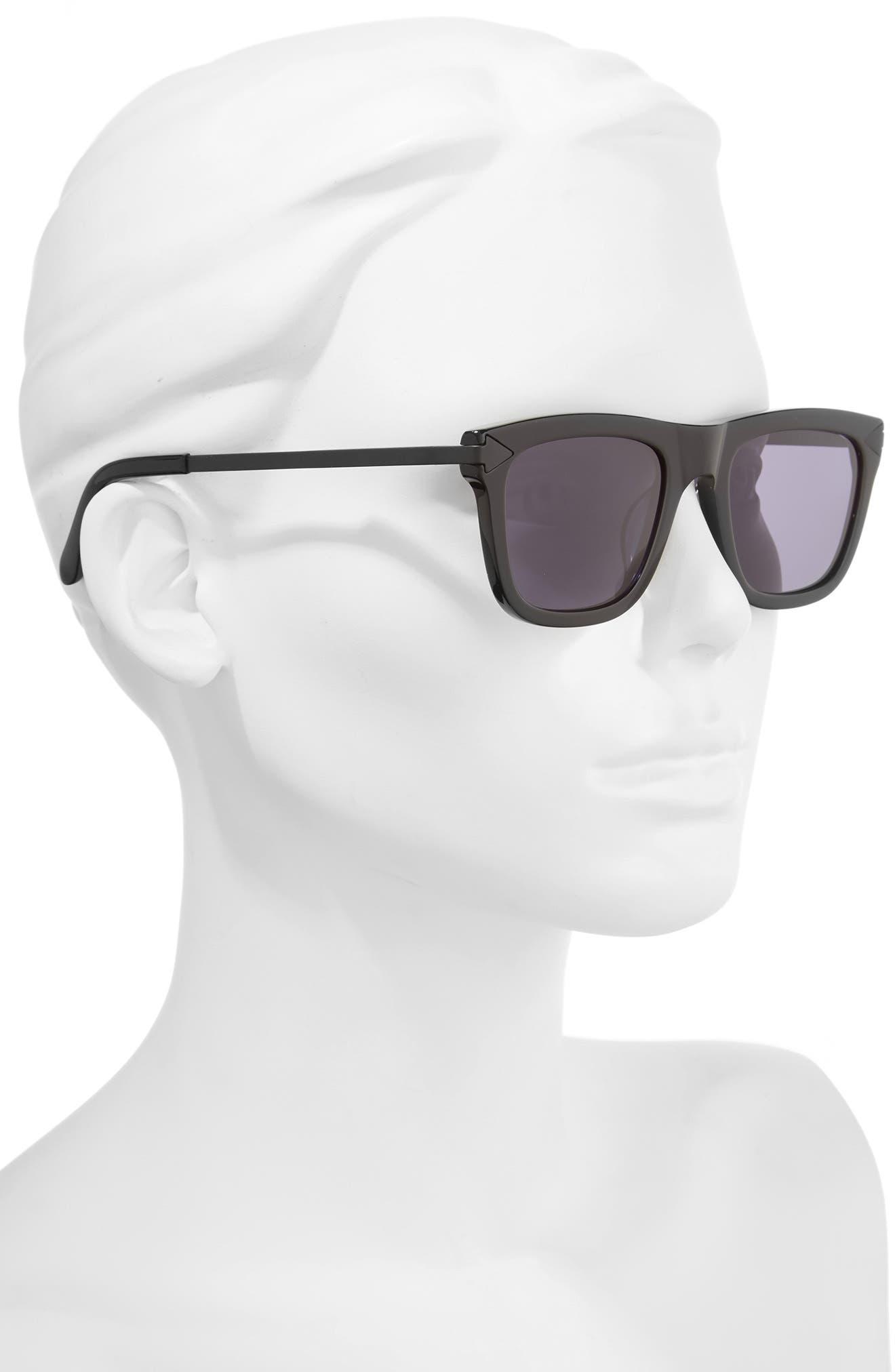 x Monumental Voltaire 51mm Polarized Sunglasses,                             Alternate thumbnail 2, color,                             001