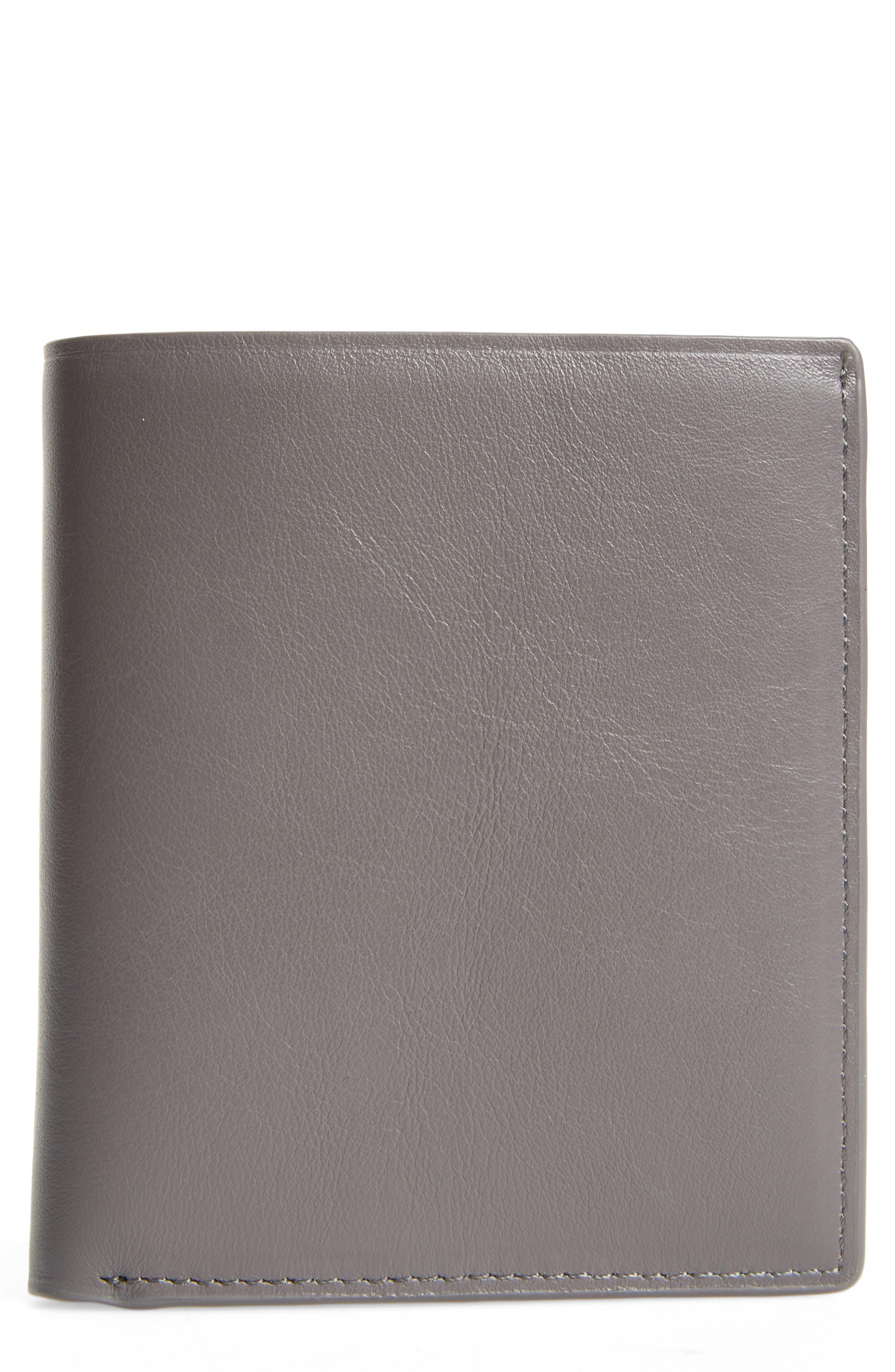 Bradley Bifold Leather Wallet,                             Main thumbnail 1, color,                             032