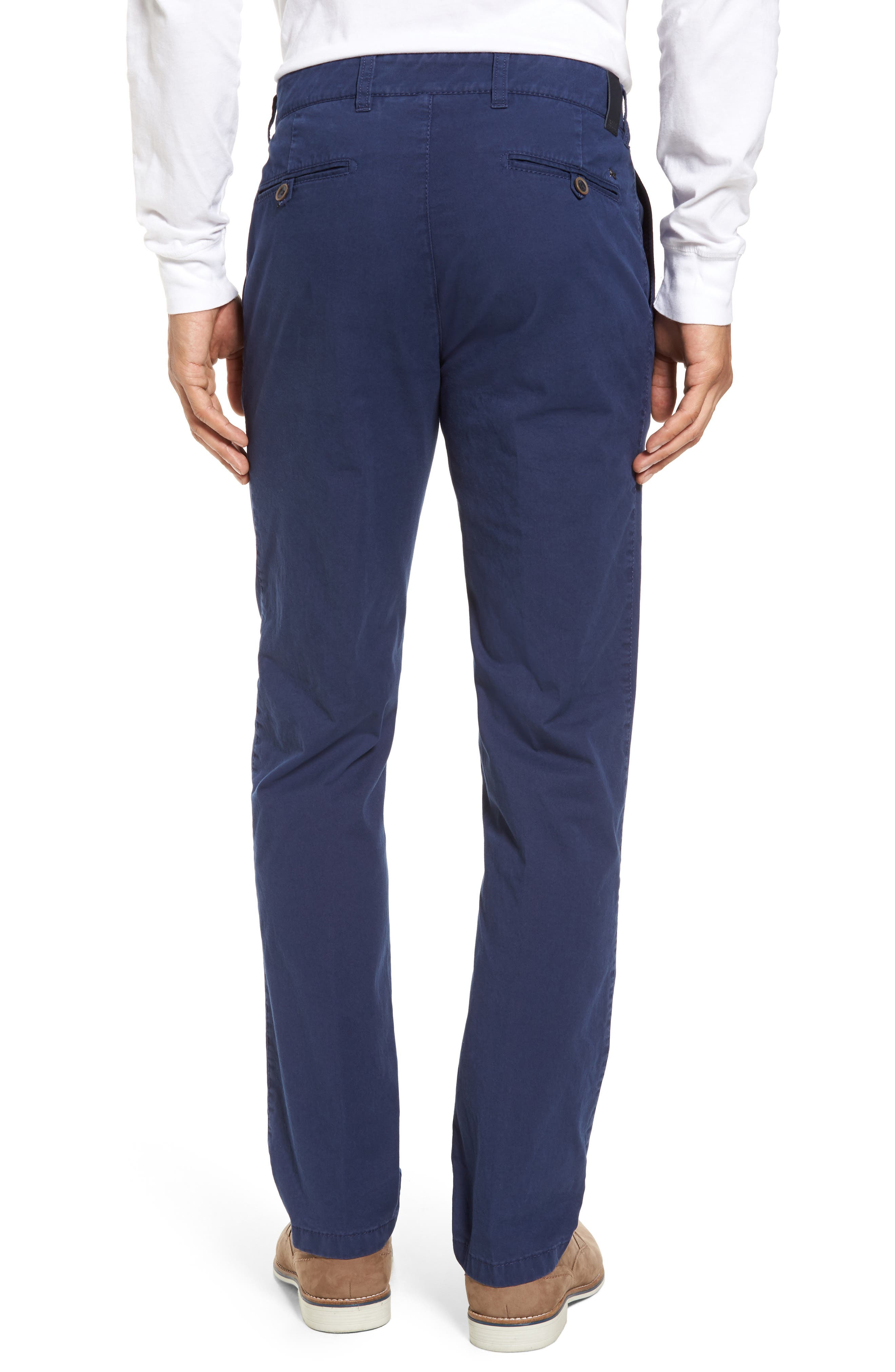 Everest Flat Front Chinos,                             Alternate thumbnail 4, color,
