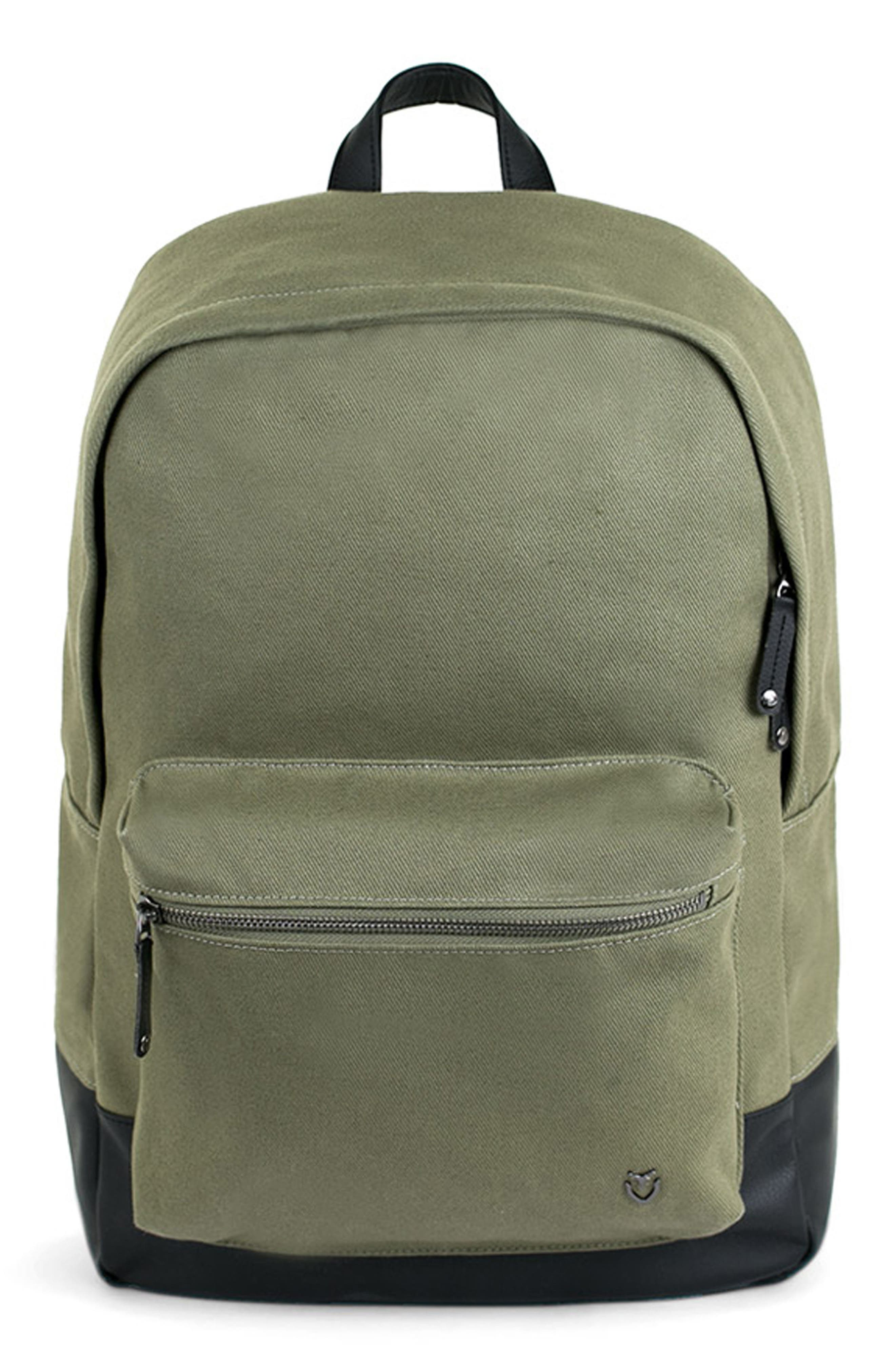 Refined Backpack,                         Main,                         color, OLIVE