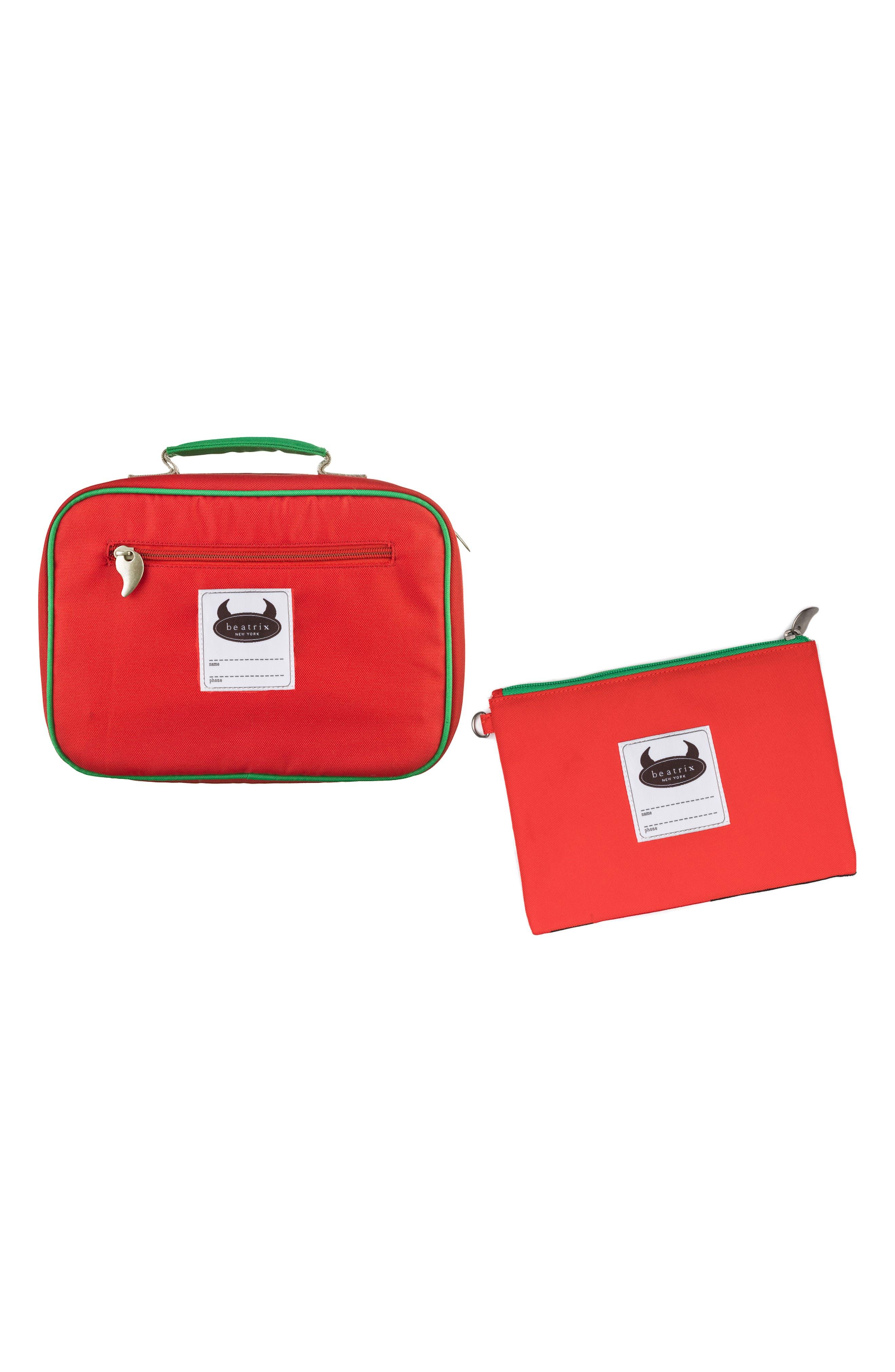 Lunch Box & Travel Pouch Set,                             Alternate thumbnail 9, color,