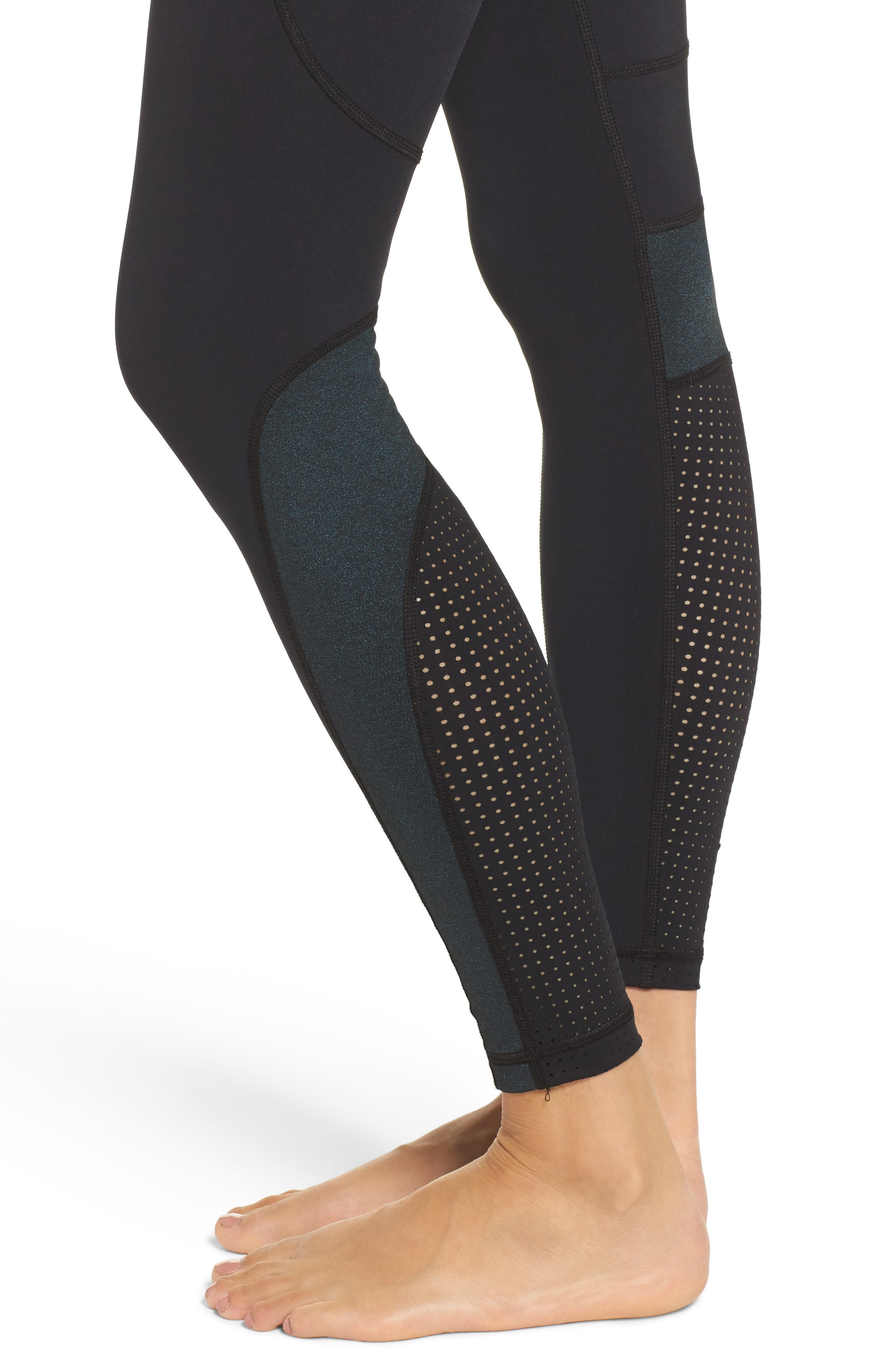 Siren Performance Tights,                             Alternate thumbnail 4, color,                             002
