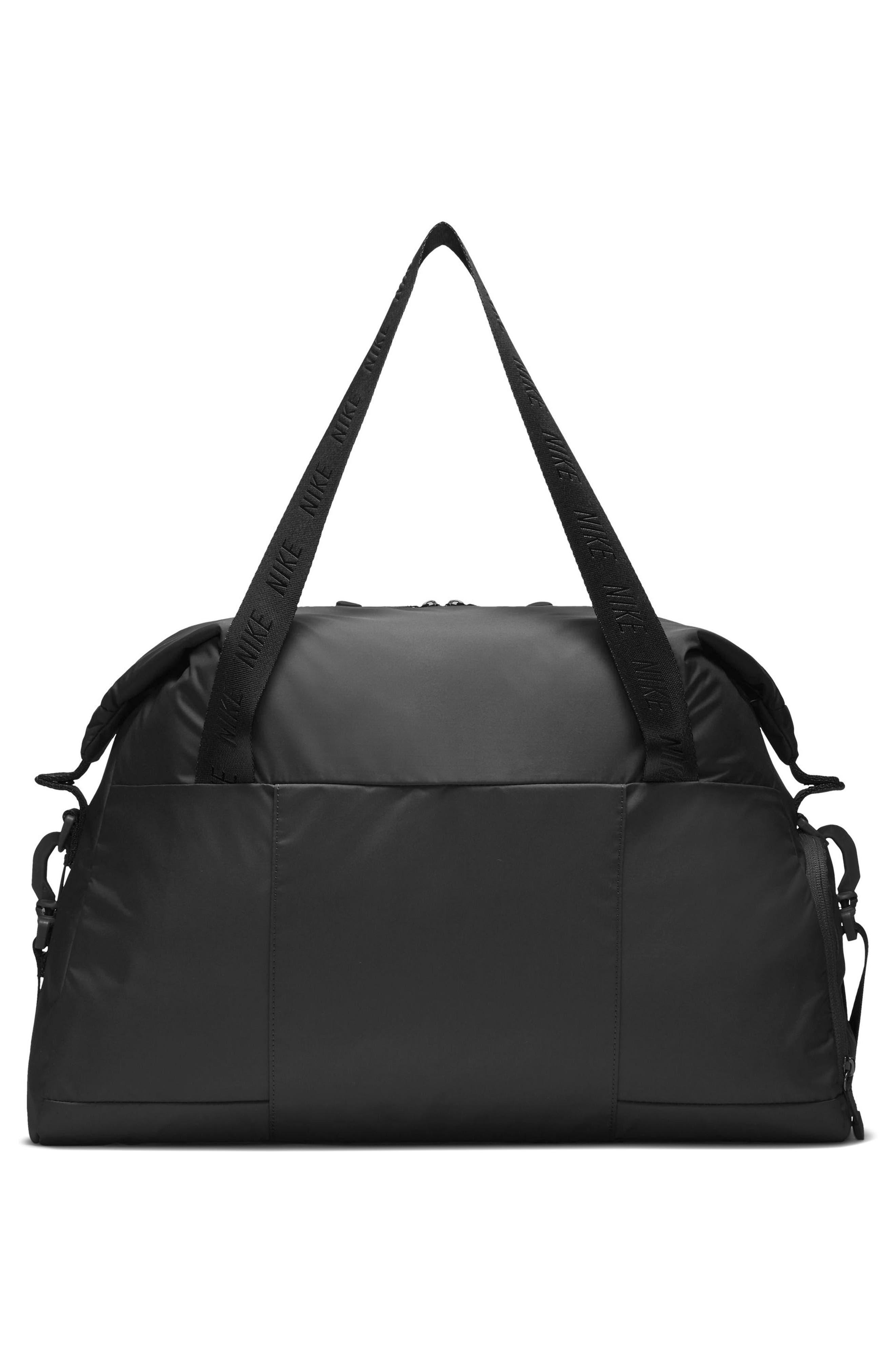 Legend Club Training Duffel Bag,                             Alternate thumbnail 2, color,                             BLACK/ STORM PINK/ BLACK