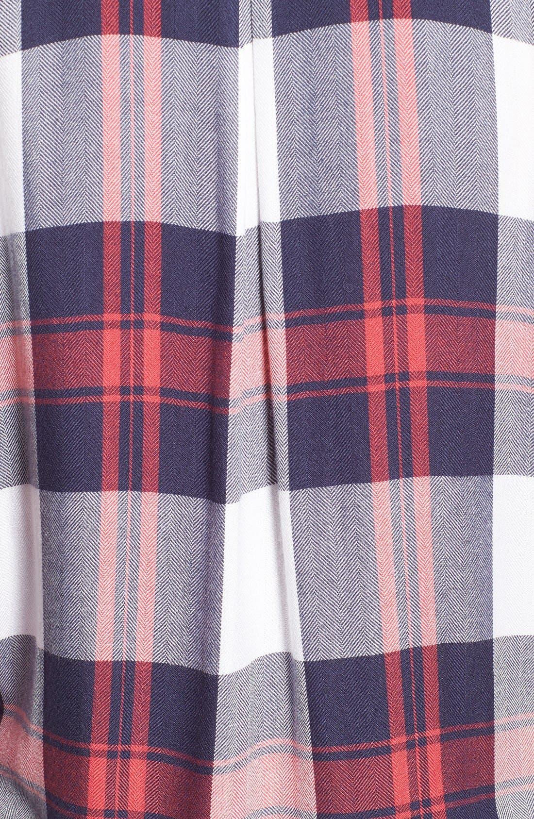 Hunter Plaid Shirt,                             Alternate thumbnail 669, color,