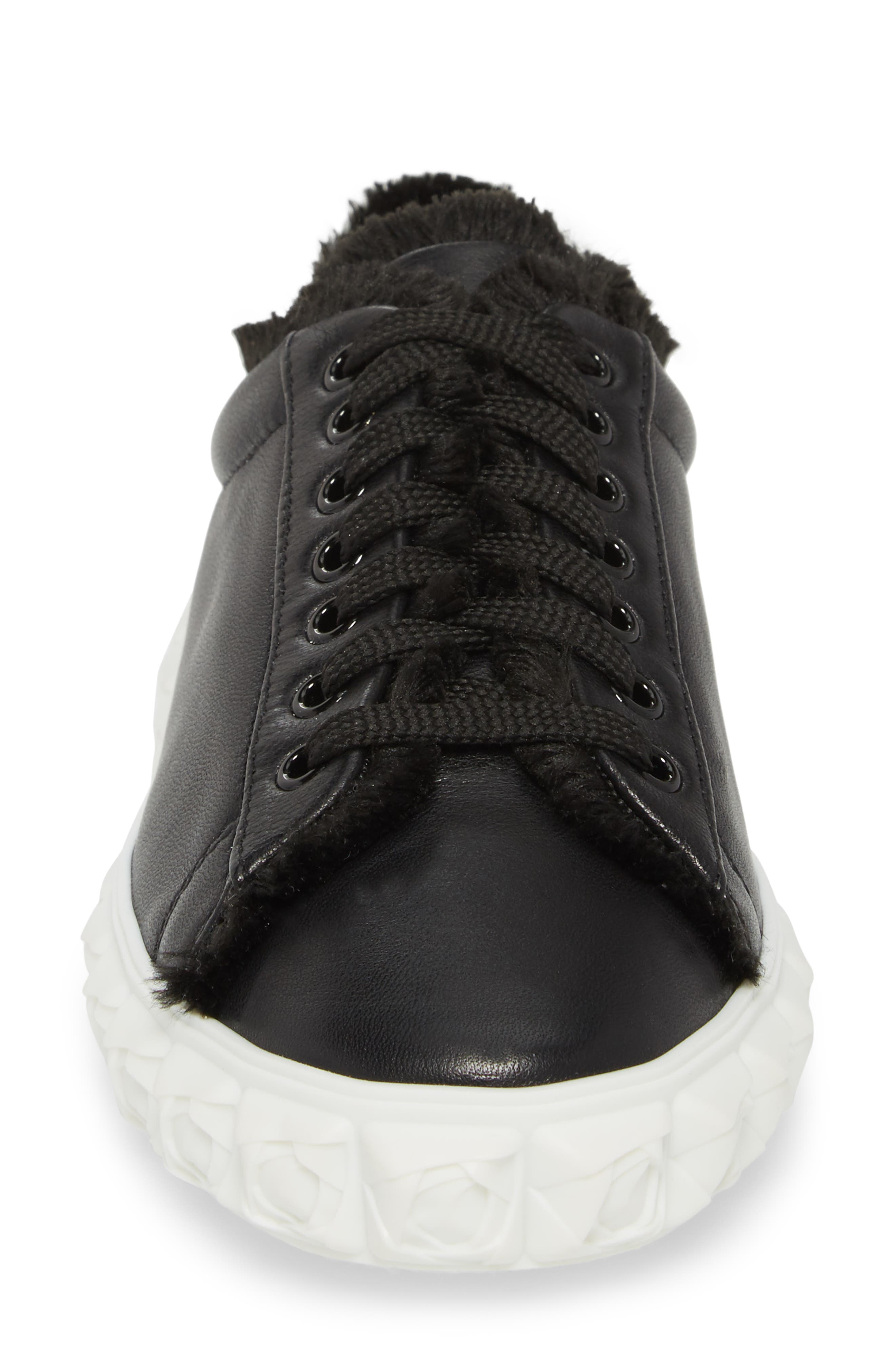 Fringe Sneaker,                             Alternate thumbnail 4, color,                             001