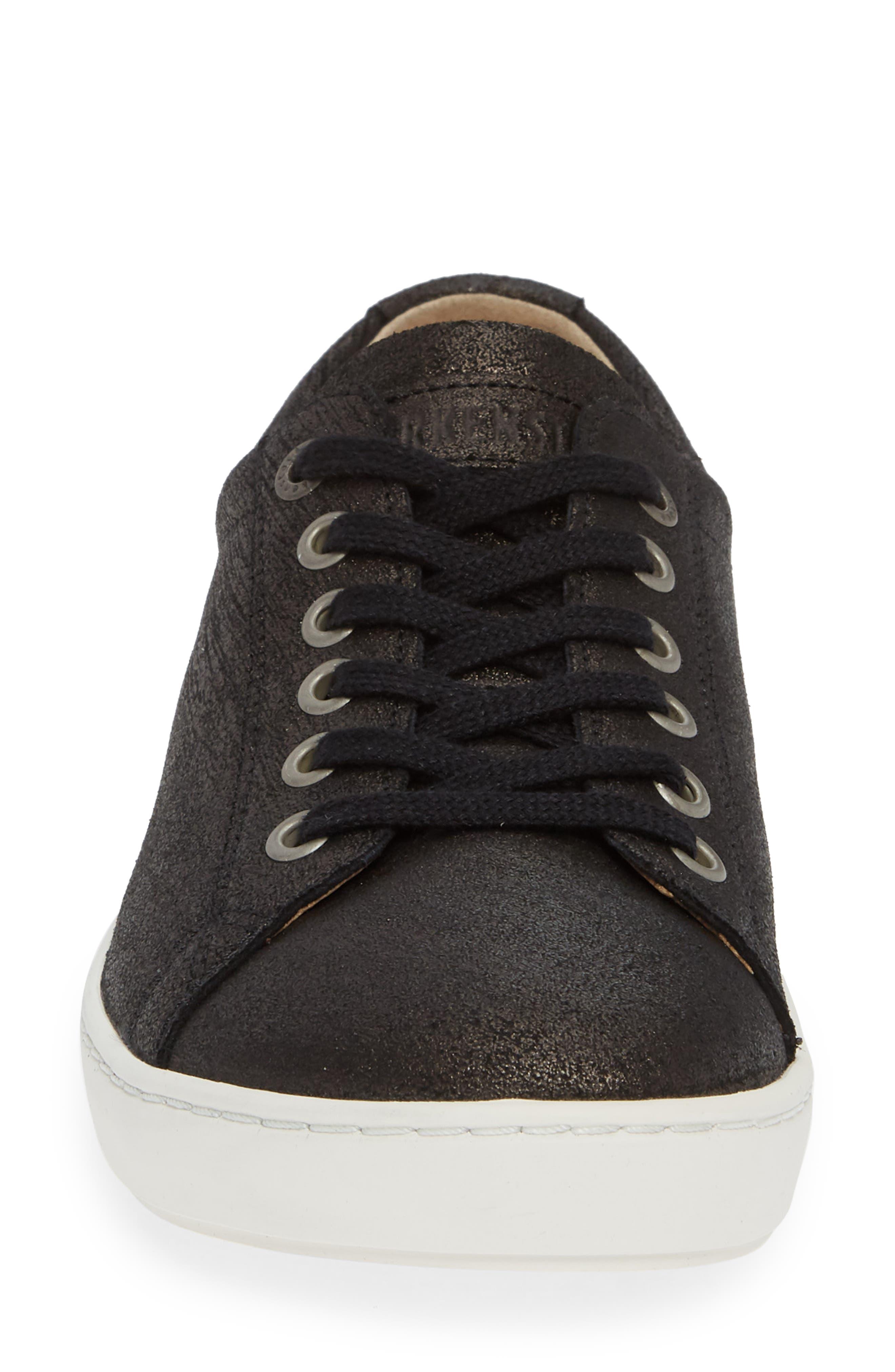 Arran Sneaker,                             Alternate thumbnail 4, color,                             METALLIC BLACK