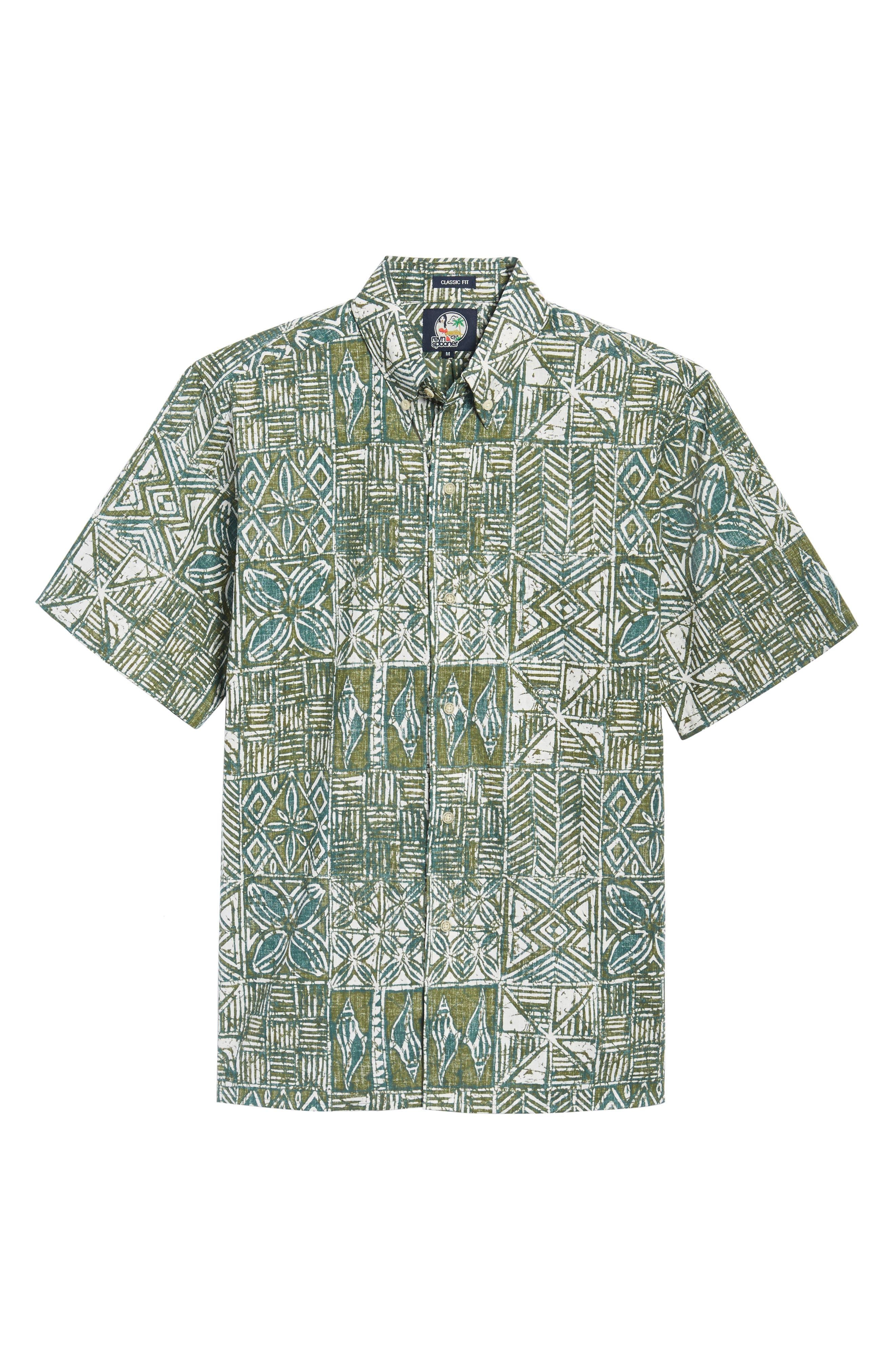 Leho Kapa Classic Fit Sport Shirt,                             Alternate thumbnail 6, color,                             315