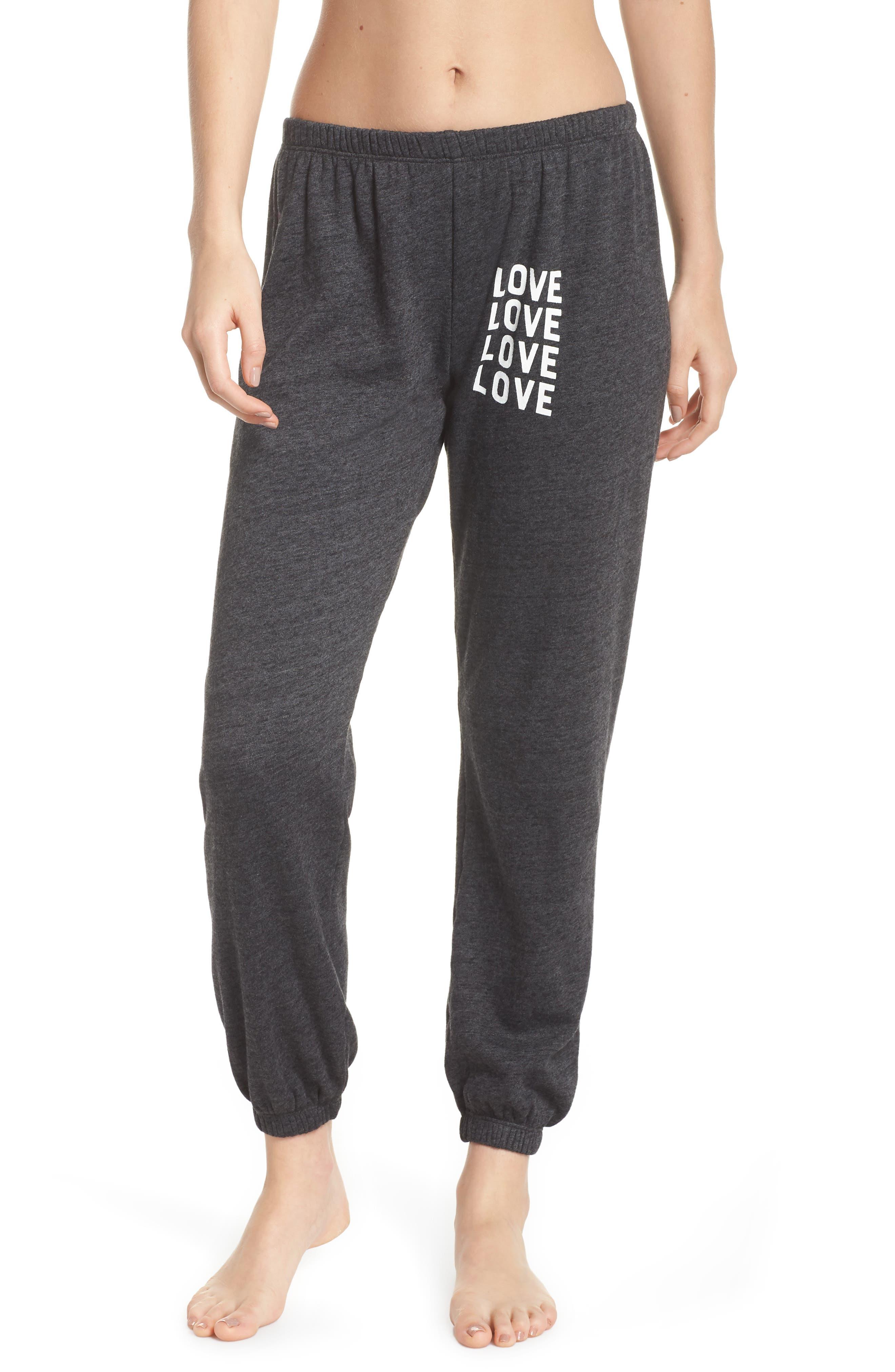 Love Perfect Sweatpants,                         Main,                         color, VINTAGE BLACK