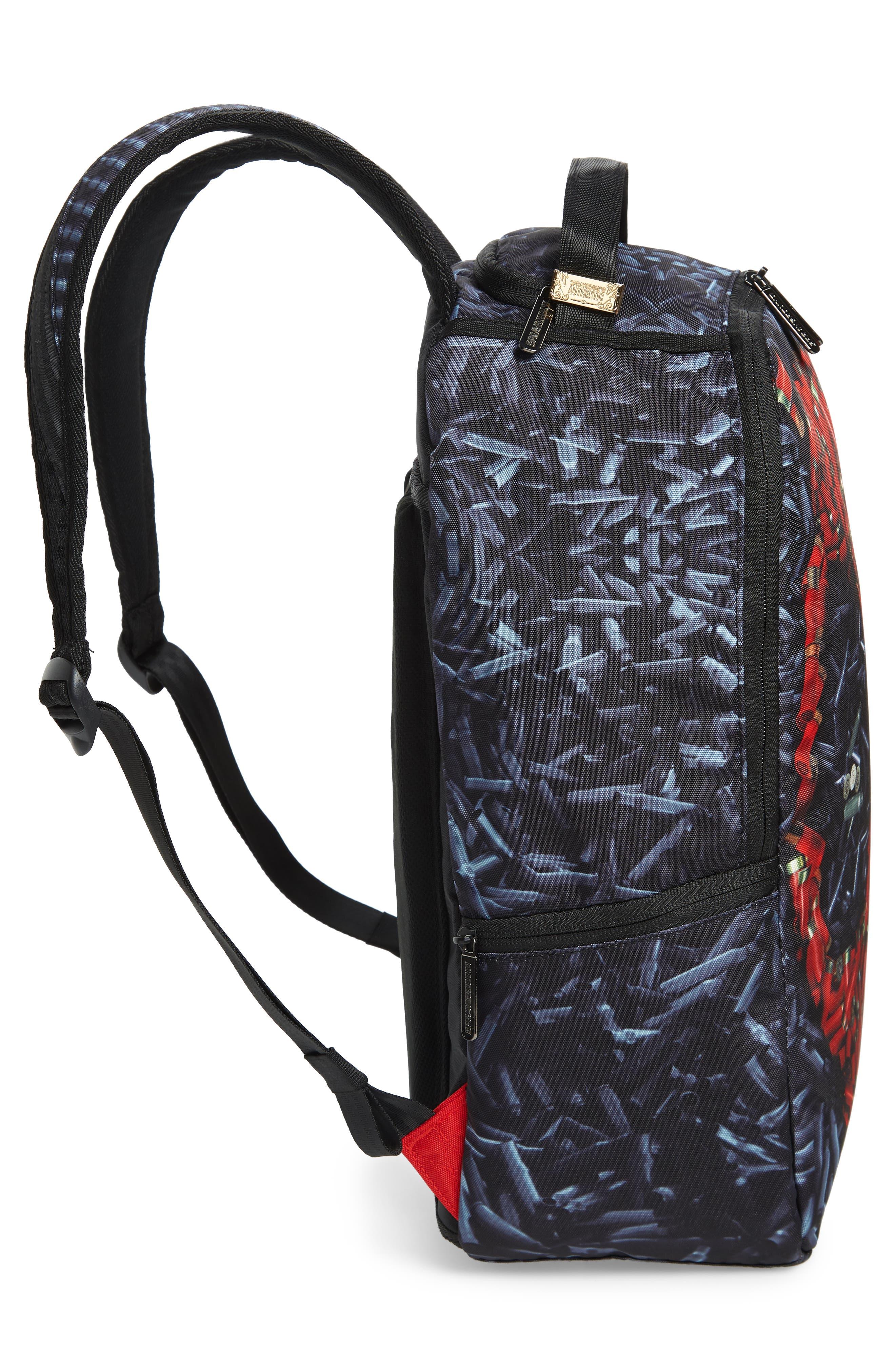 Deadpool Bullets Backpack,                             Alternate thumbnail 5, color,                             001