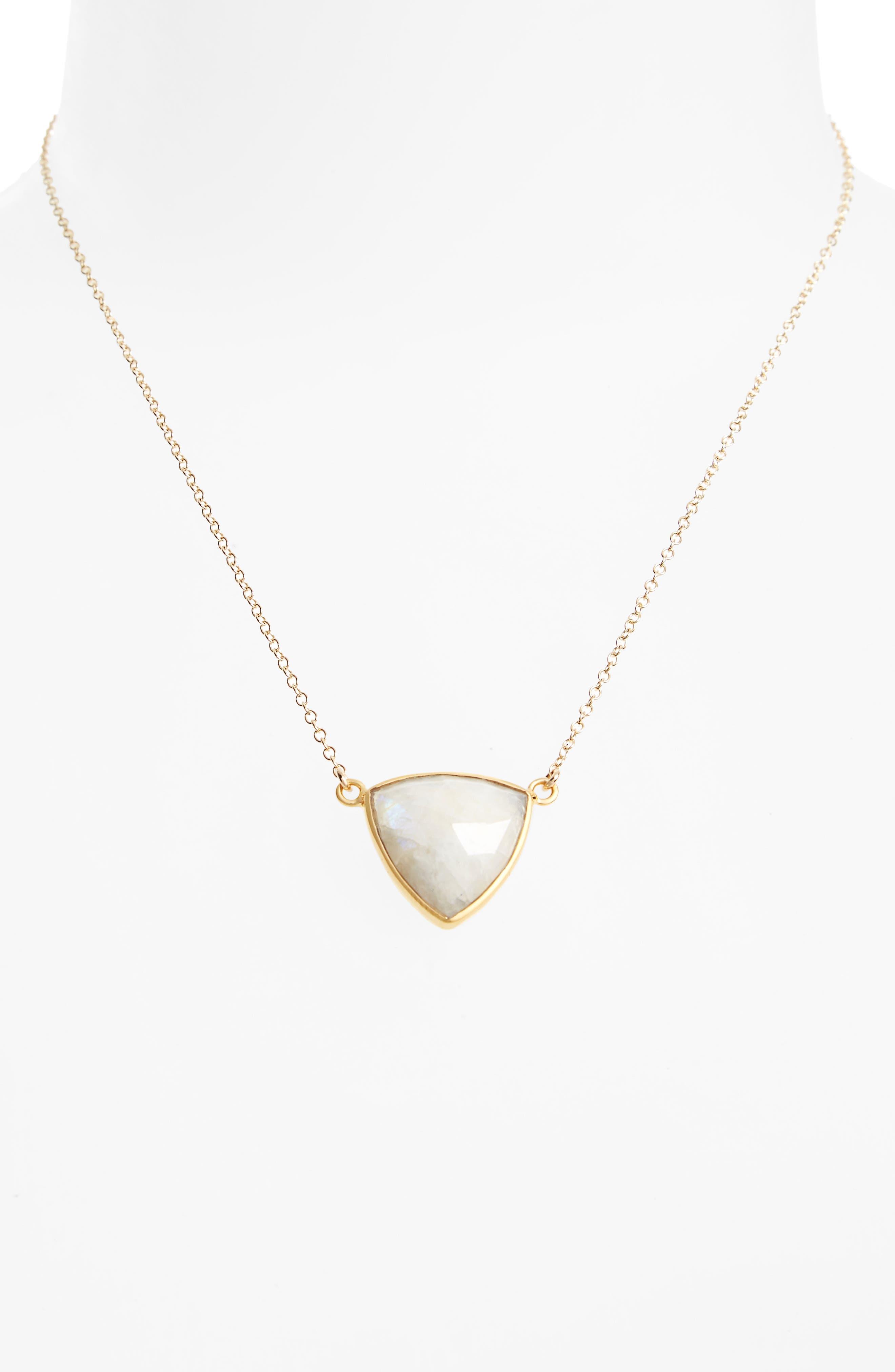 Trillium Pendant Necklace,                             Alternate thumbnail 2, color,                             100