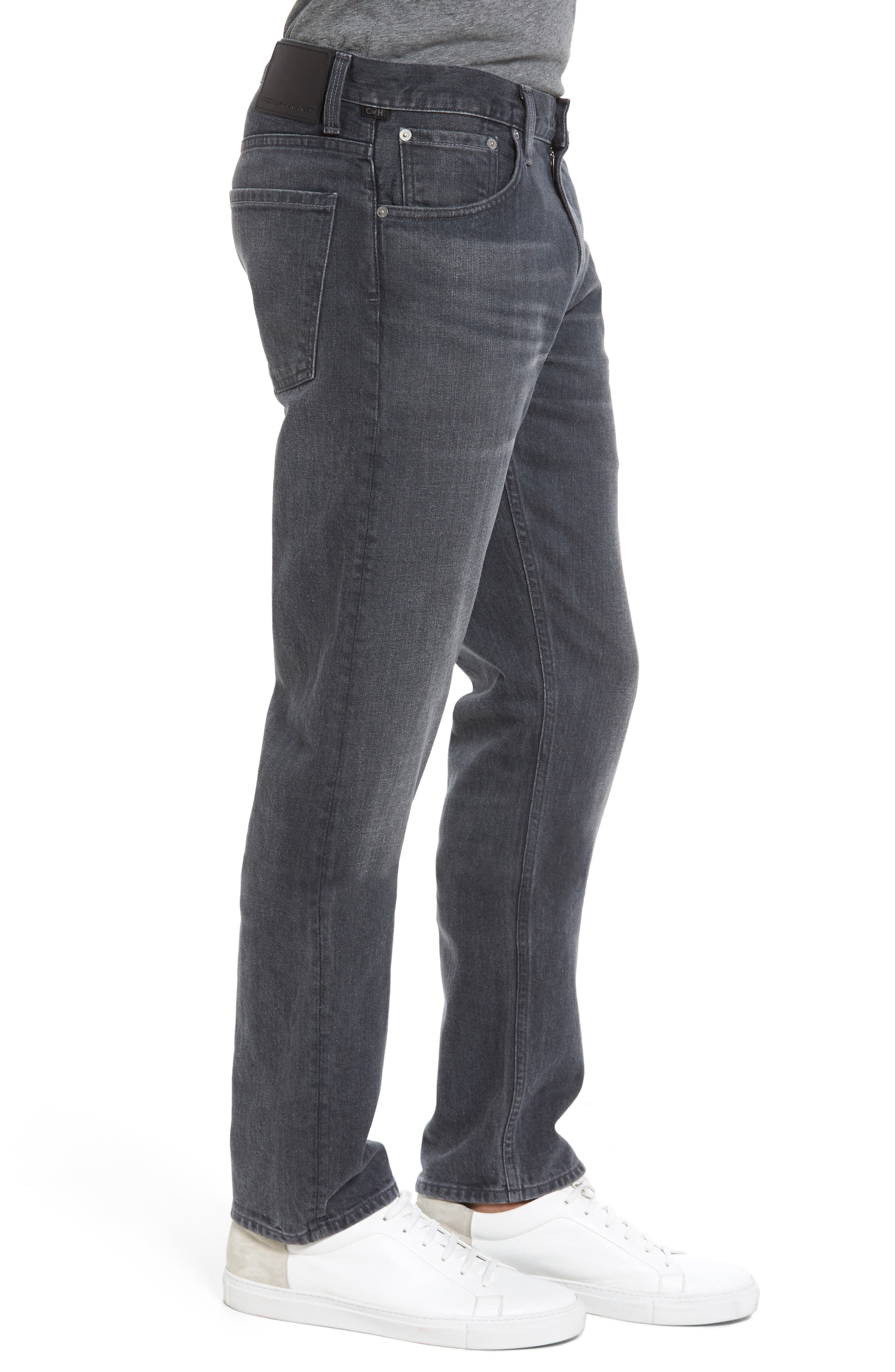 Bowery Slim Fit Jeans,                             Alternate thumbnail 3, color,                             022