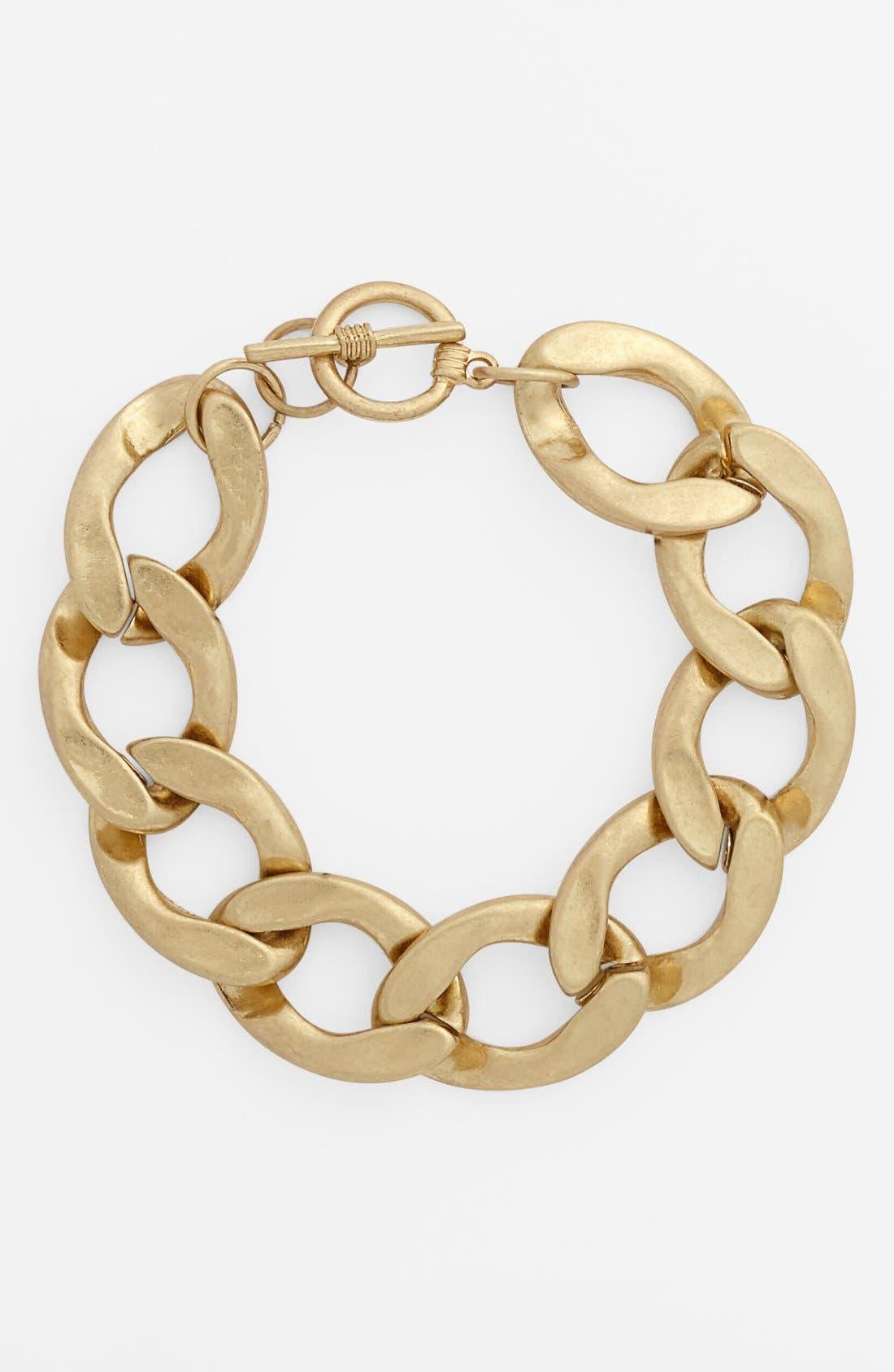 CAROLE,                             Chain Link Bracelet,                             Main thumbnail 1, color,                             712