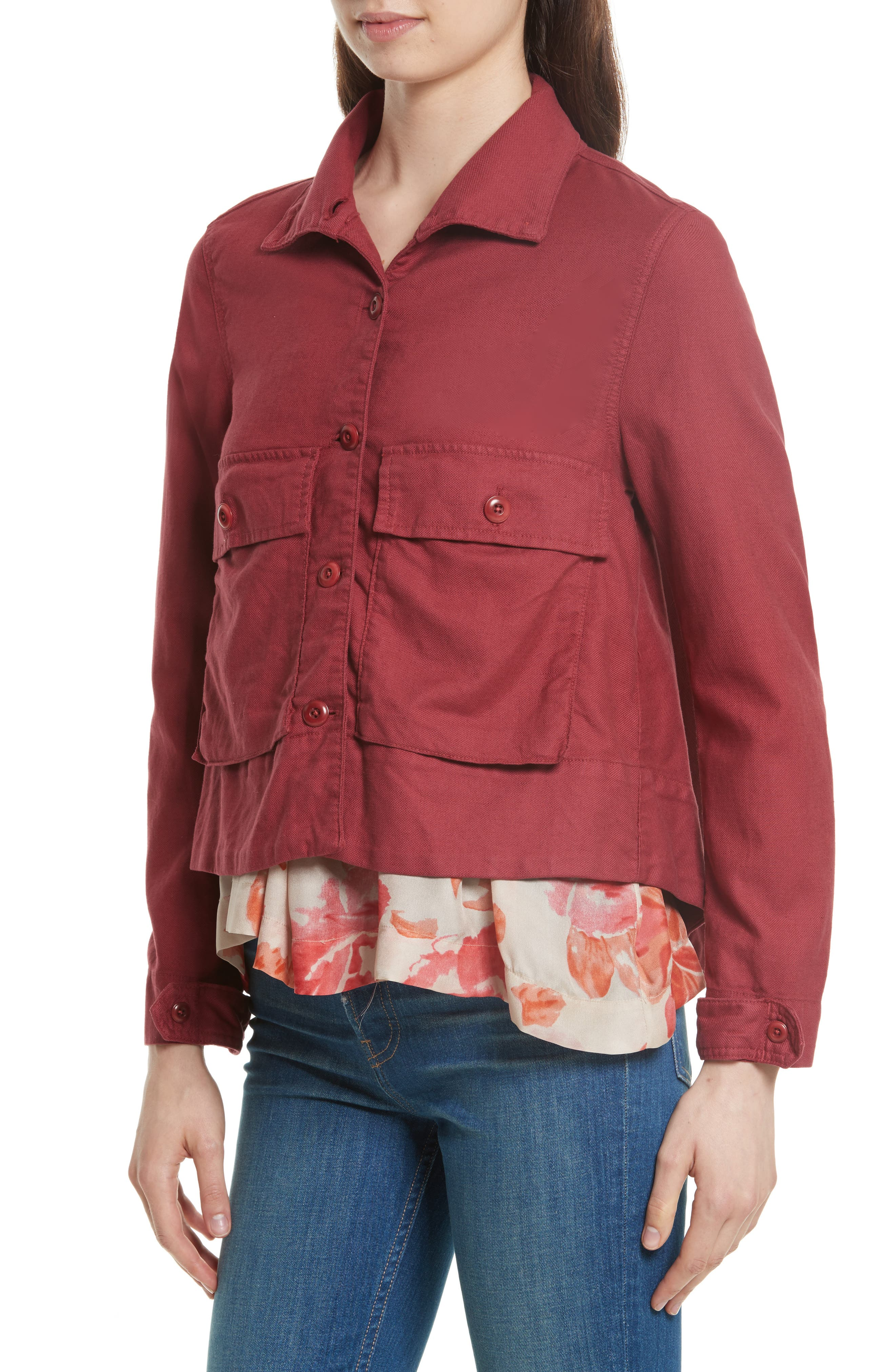 'The Swingy Army' Jacket,                             Alternate thumbnail 12, color,