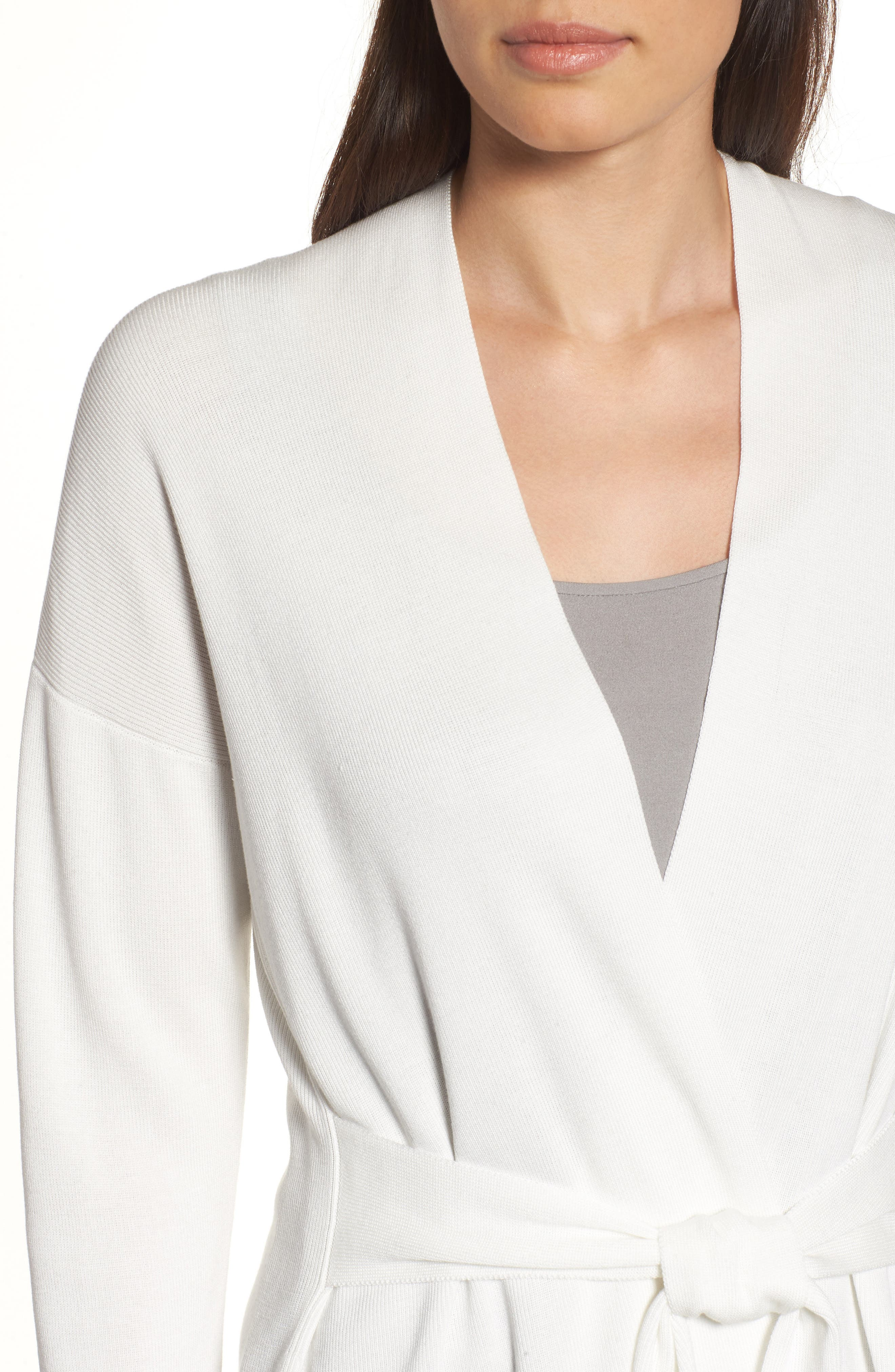 Long Belted Cardigan,                             Alternate thumbnail 14, color,