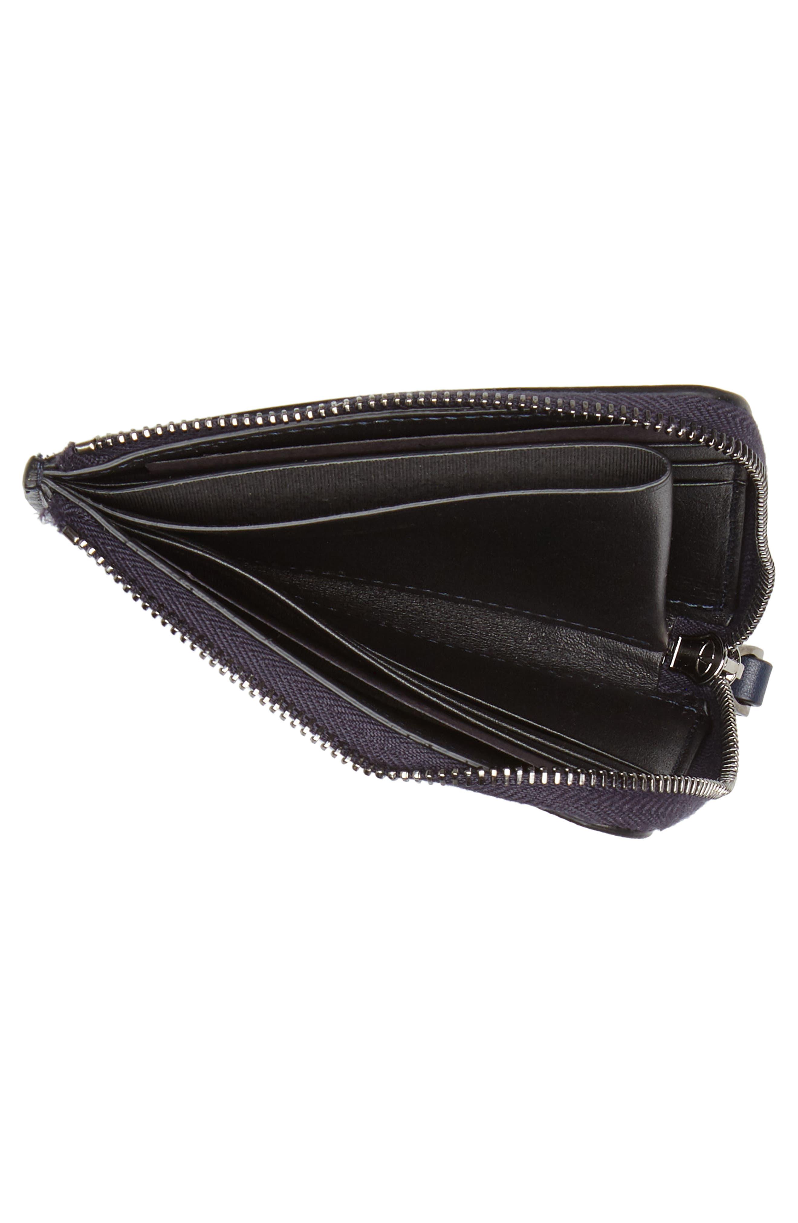 GARAVANI Camo Zip Wallet,                             Alternate thumbnail 2, color,                             MARINE