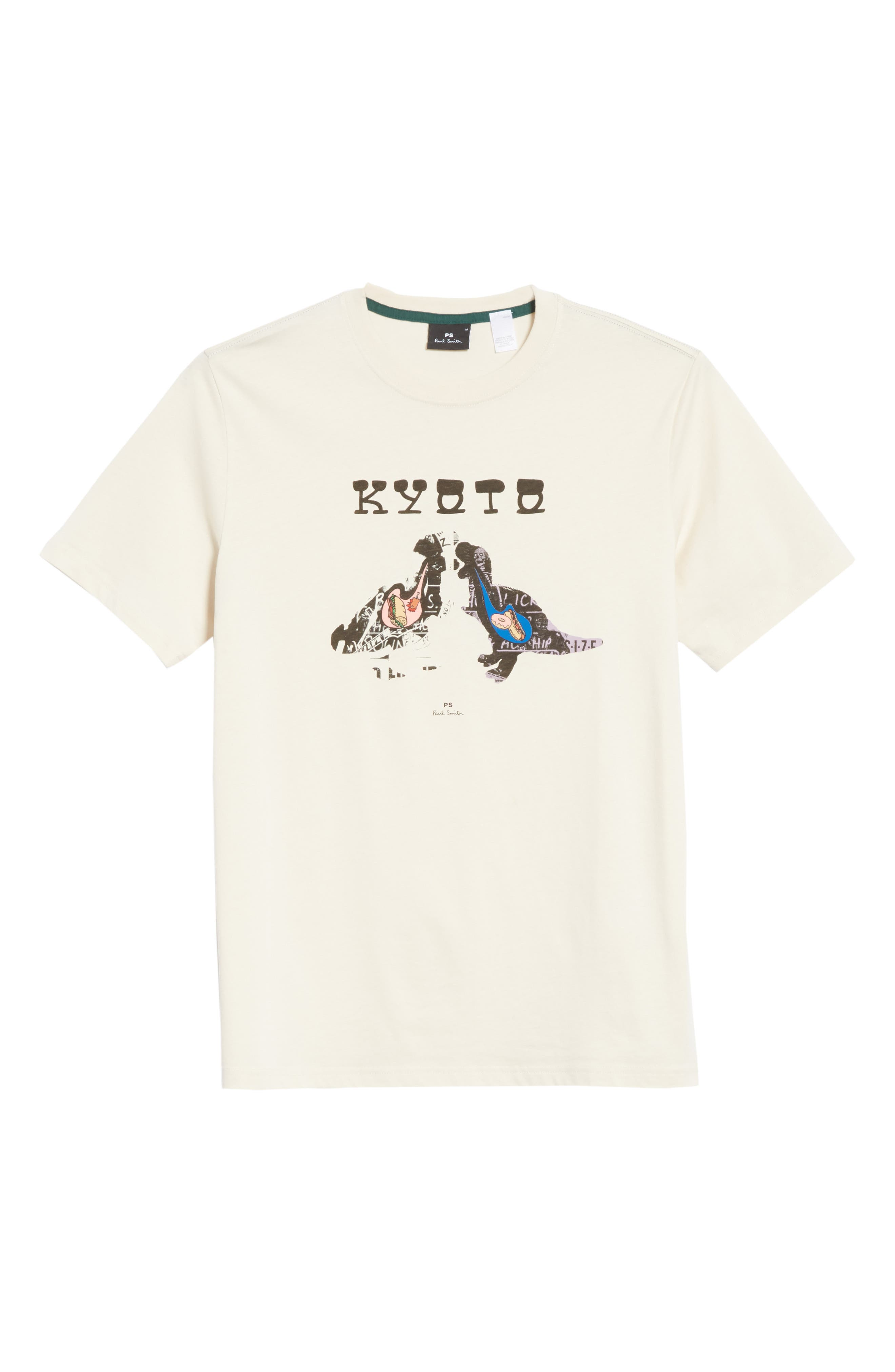 Kyoto Graphic T-Shirt,                             Alternate thumbnail 6, color,                             035