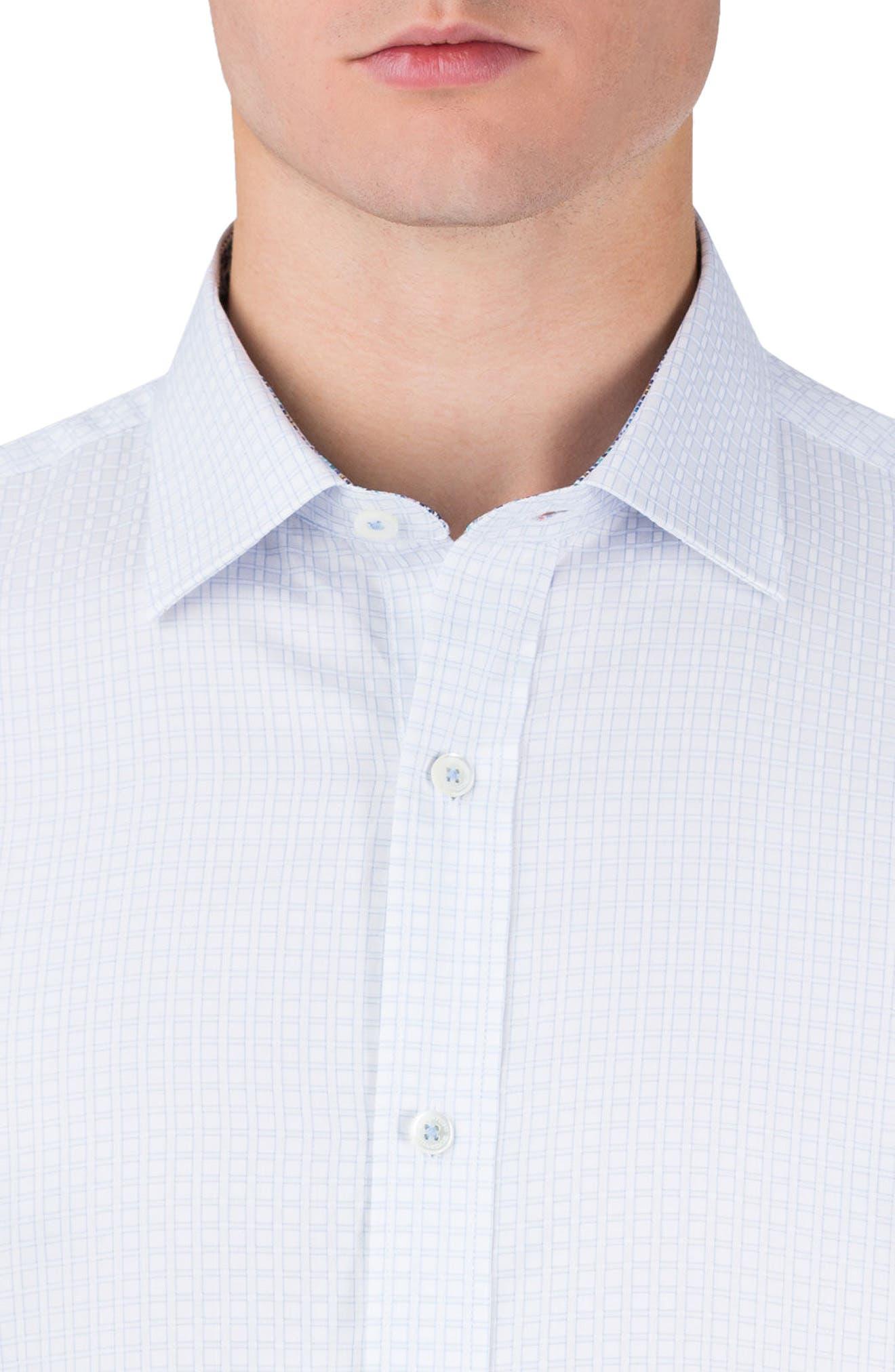 Shaped Fit Sport Shirt,                             Alternate thumbnail 3, color,