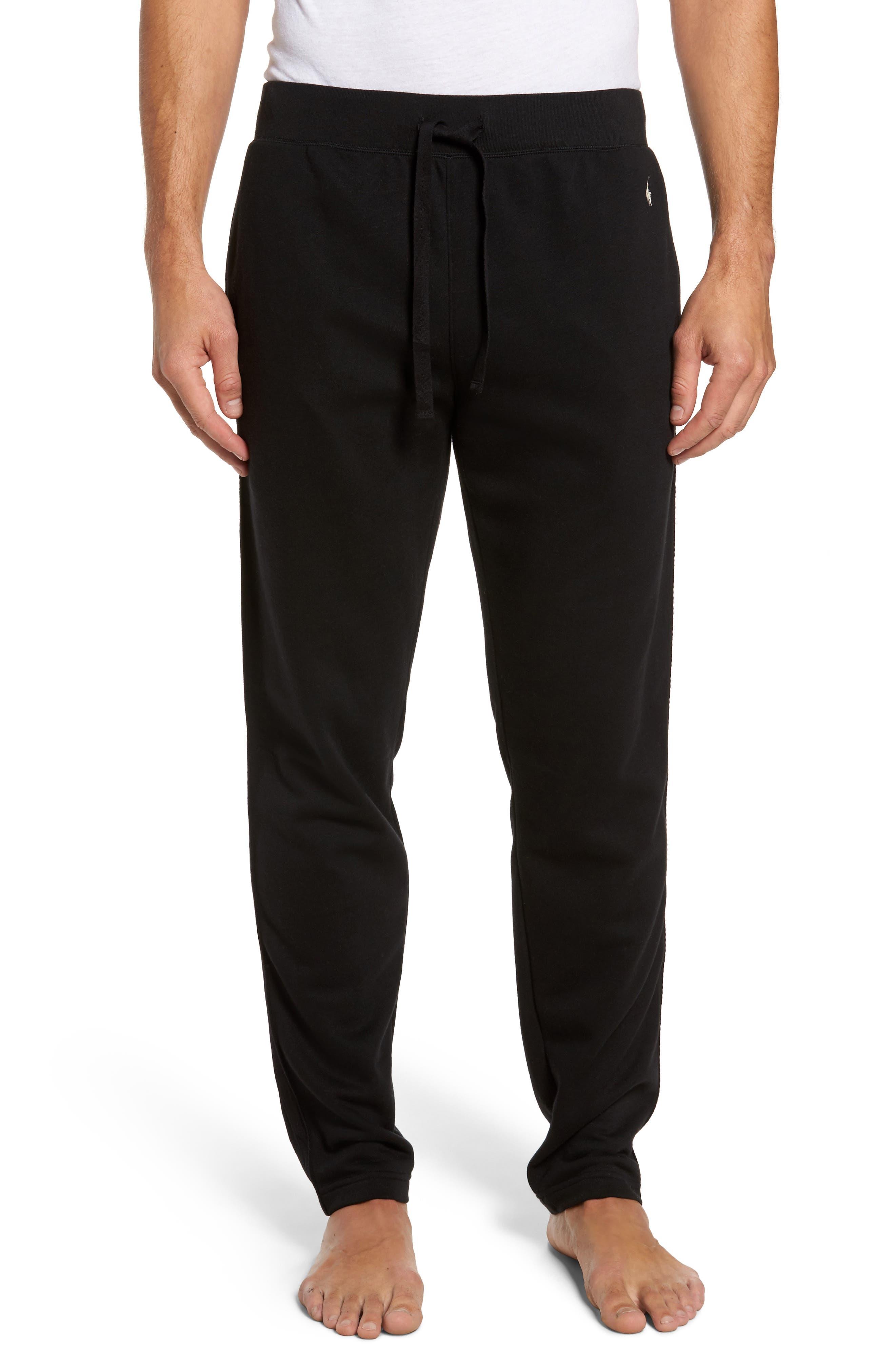 Slim Fit Brushed Fleece Pajama Pants,                             Main thumbnail 1, color,                             013