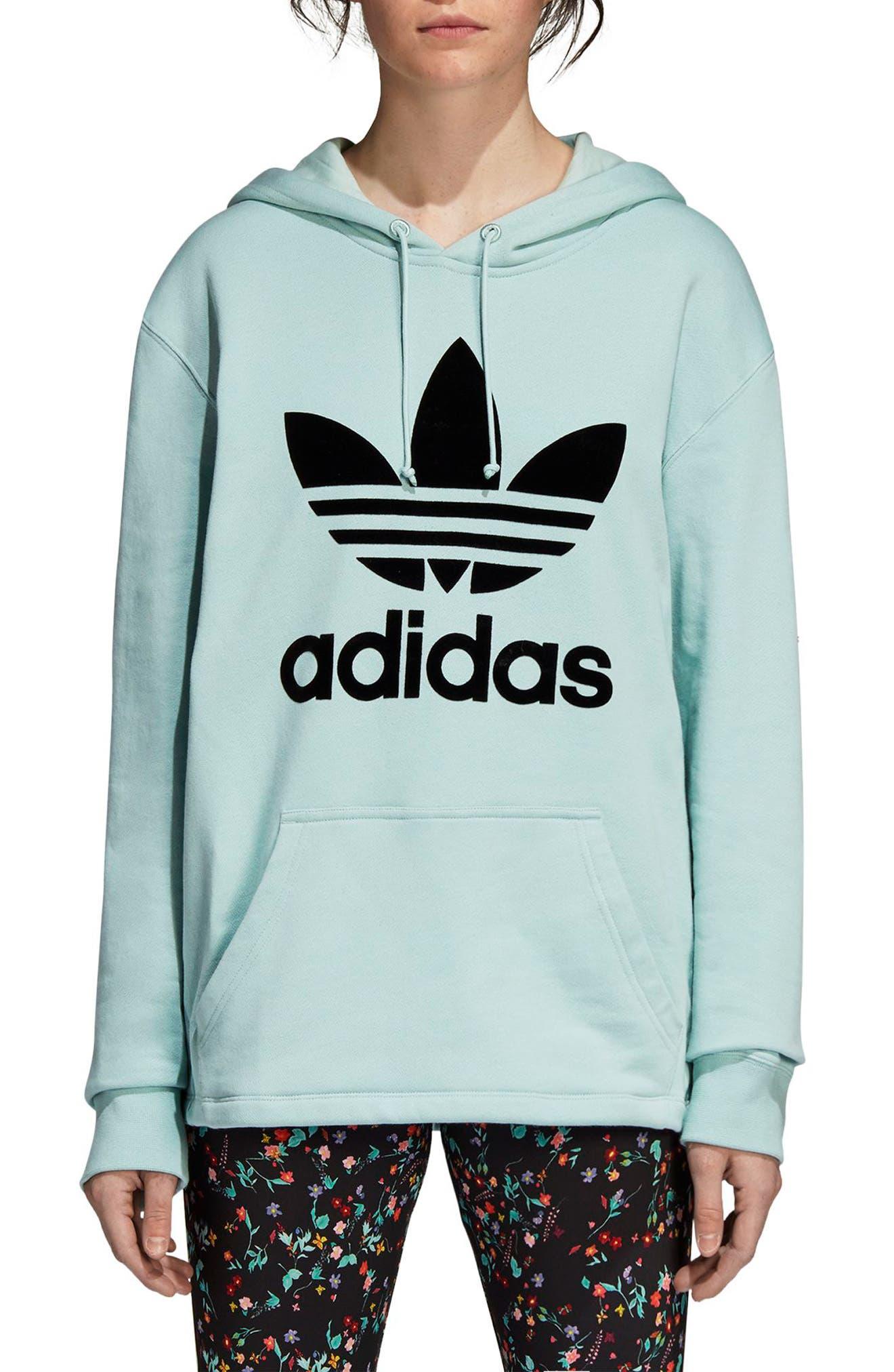 Adidas Originals Trefoil Hoodie, Green