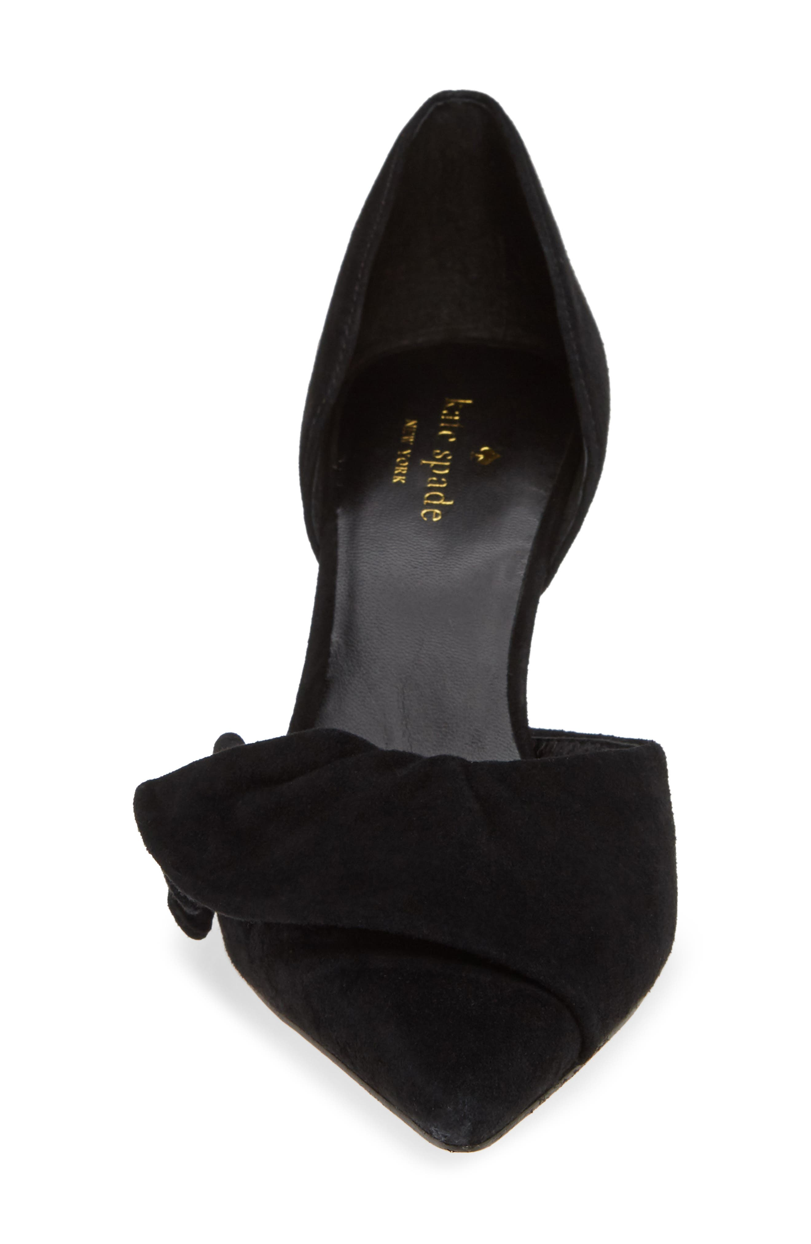 KATE SPADE NEW YORK,                             shayna d'orsay pump,                             Alternate thumbnail 4, color,                             006