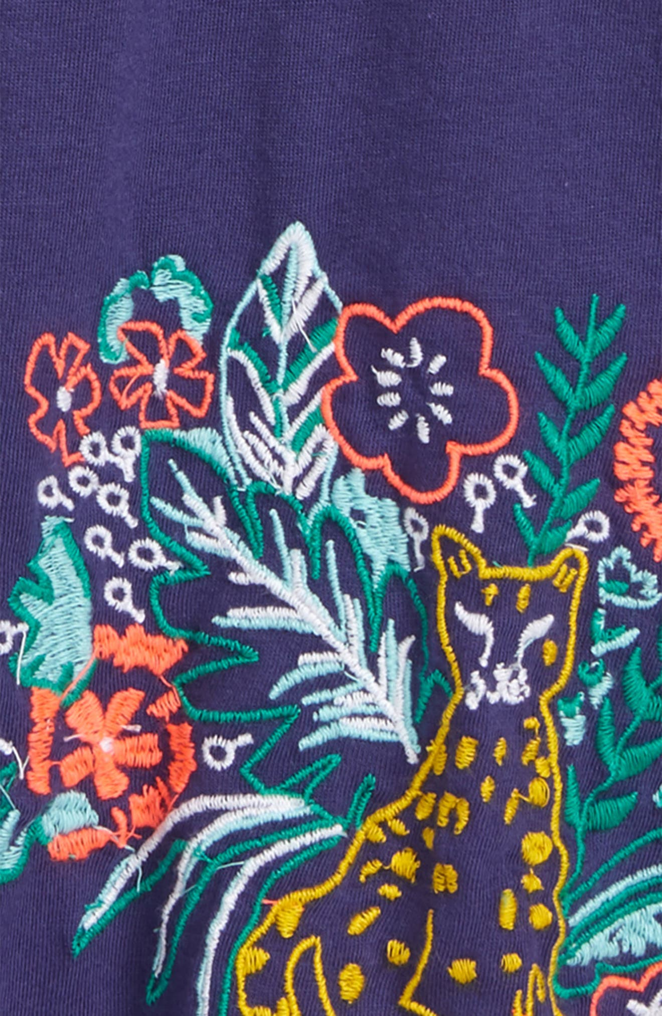 Embroidered Swing Tee,                             Alternate thumbnail 2, color,                             410