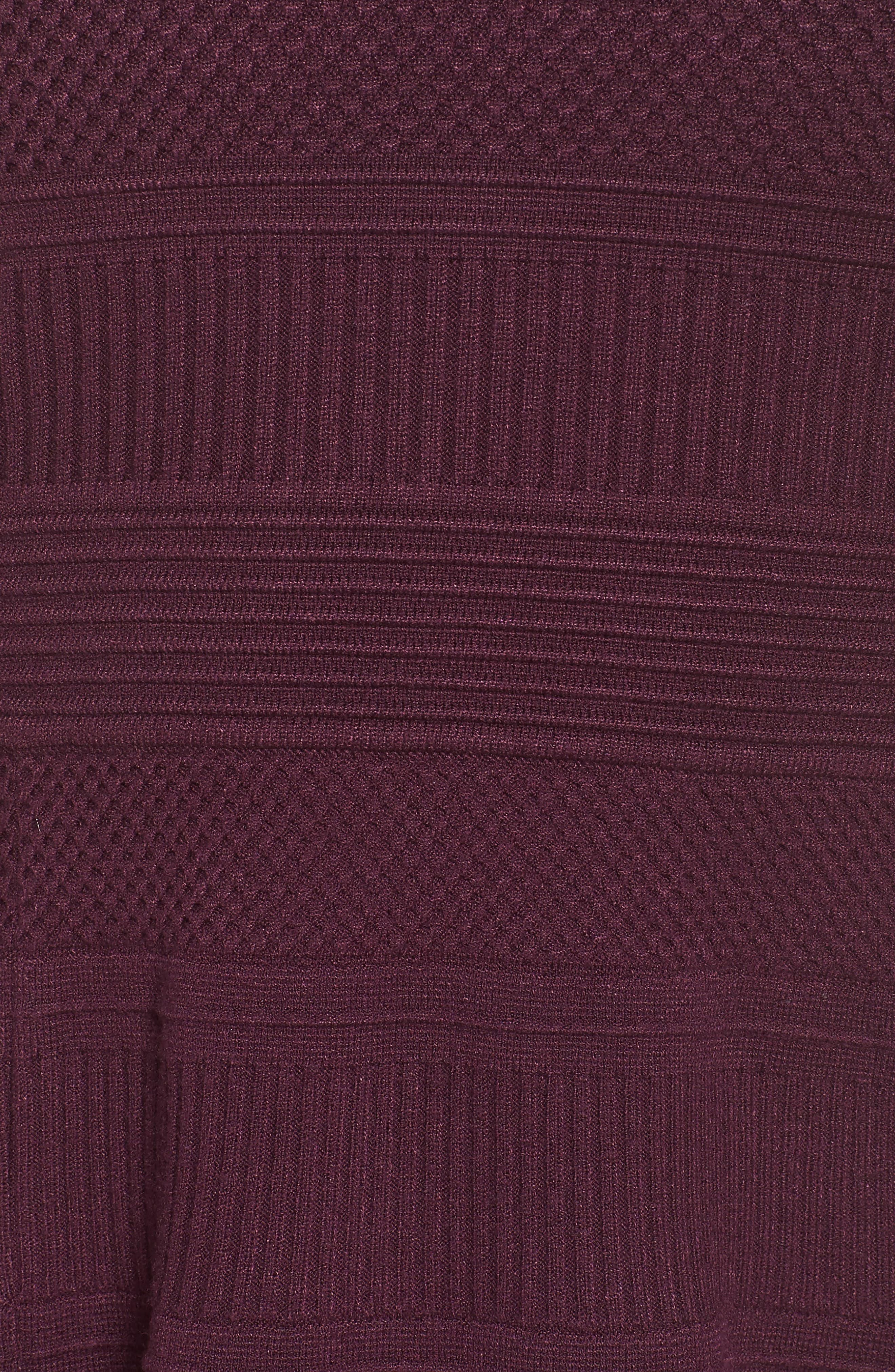 Fit & Flare Sweater Dress,                             Alternate thumbnail 20, color,
