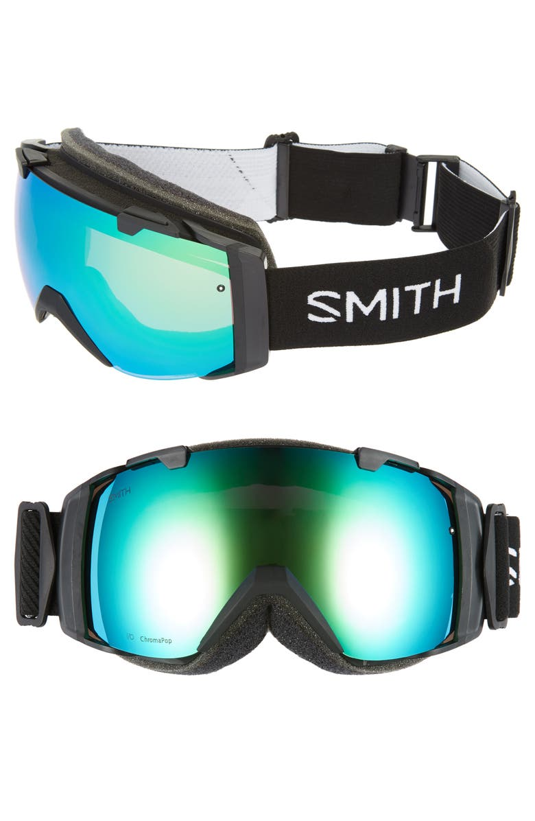 Smith I/O 185MM SPECIAL FIT CHROMAPOP SNOW GOGGLES - BLACK
