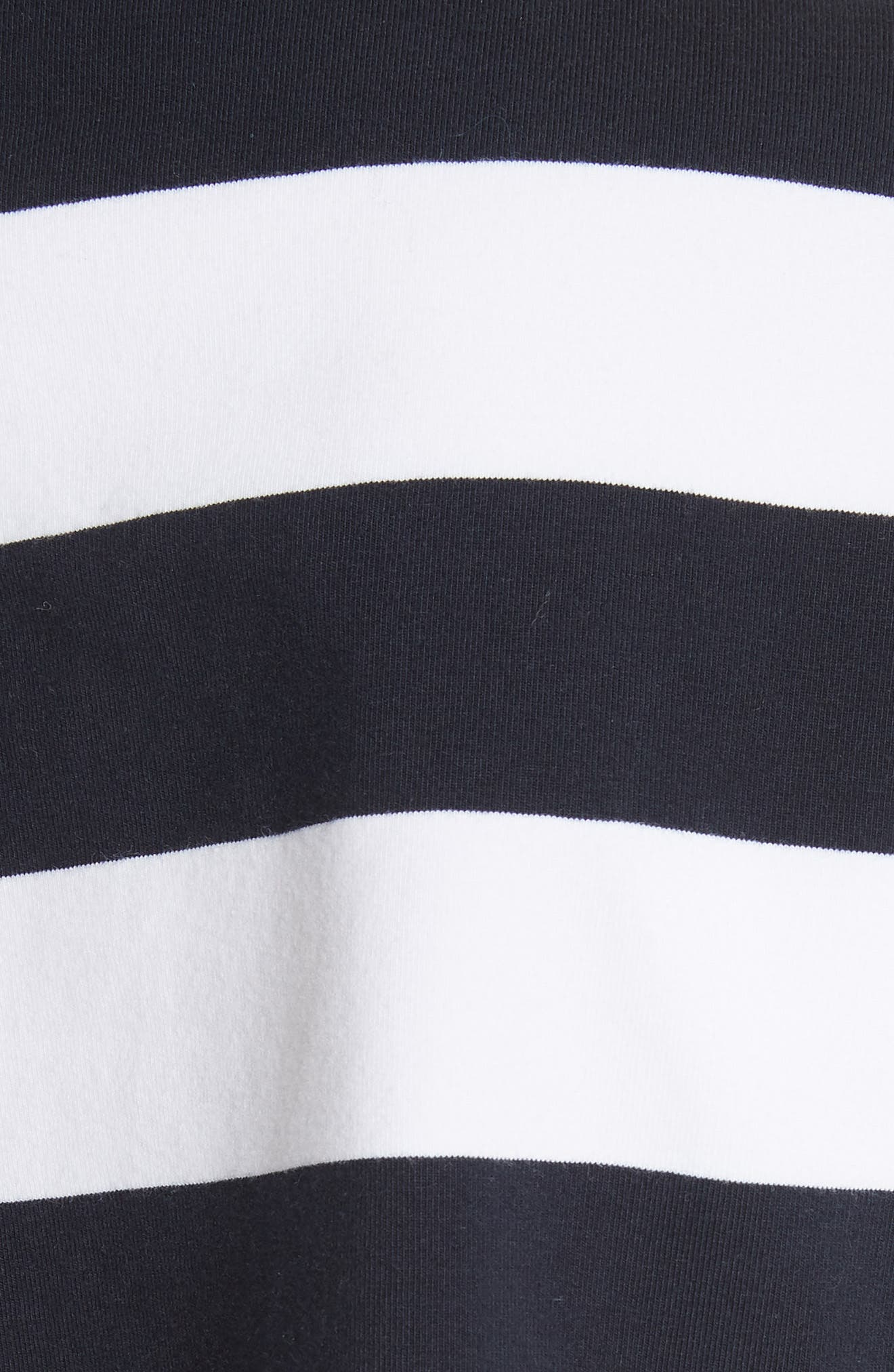 Long Sleeve Stripe Tee,                             Alternate thumbnail 5, color,                             412