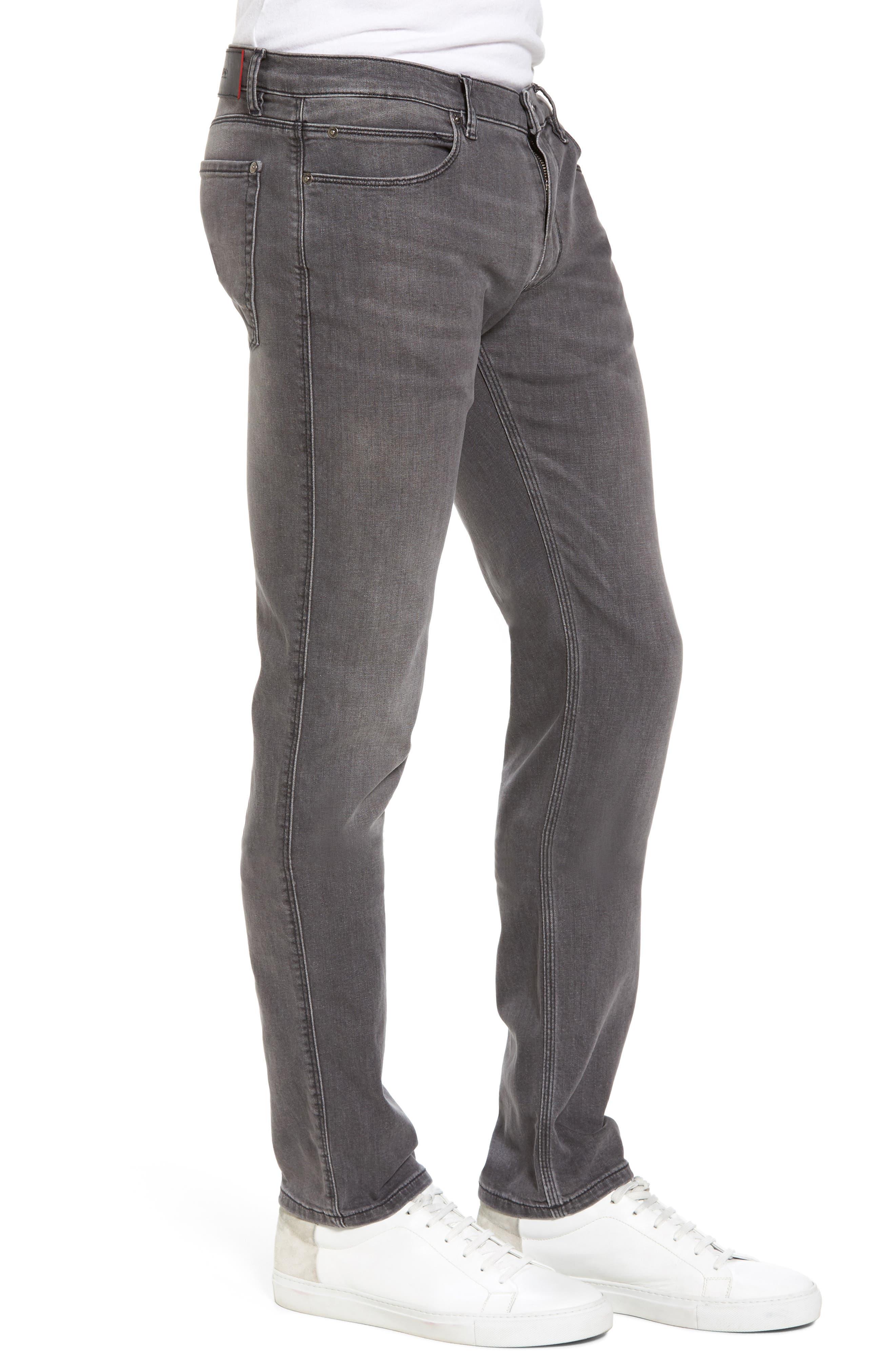 Hugo Boss 708 Stonewash Denim Jeans,                             Alternate thumbnail 3, color,                             021